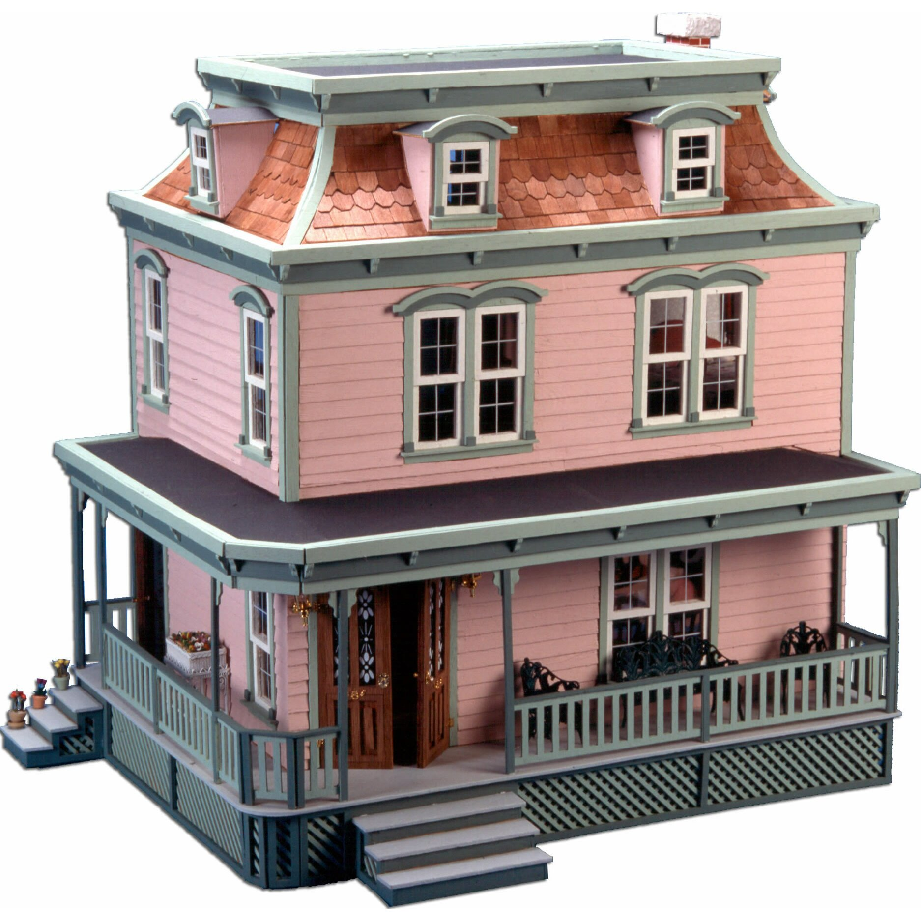 Greenleaf Dollhouses Lily Dollhouse & Reviews