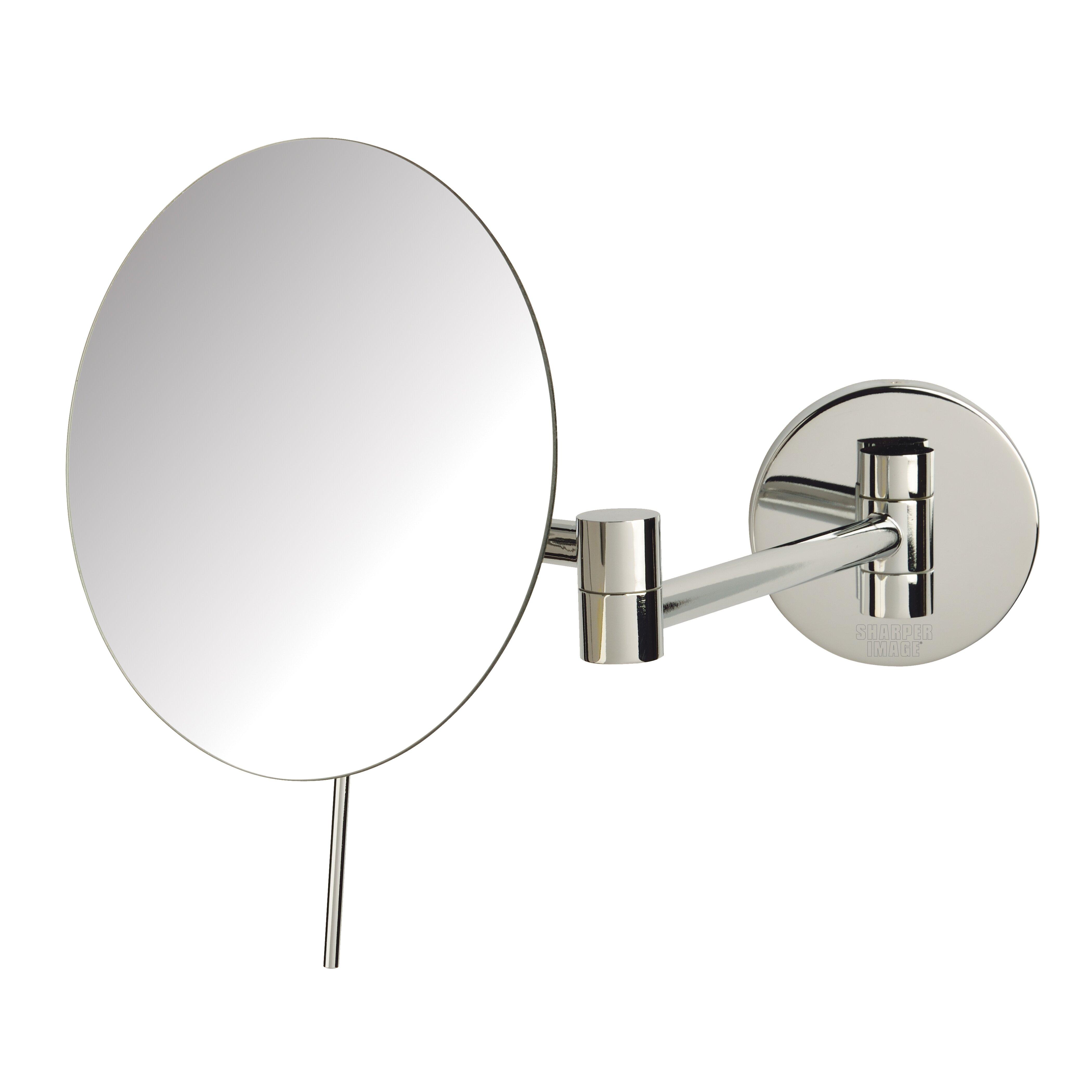 jerdon 5x magnification wall mount mirror reviews wayfair. Black Bedroom Furniture Sets. Home Design Ideas