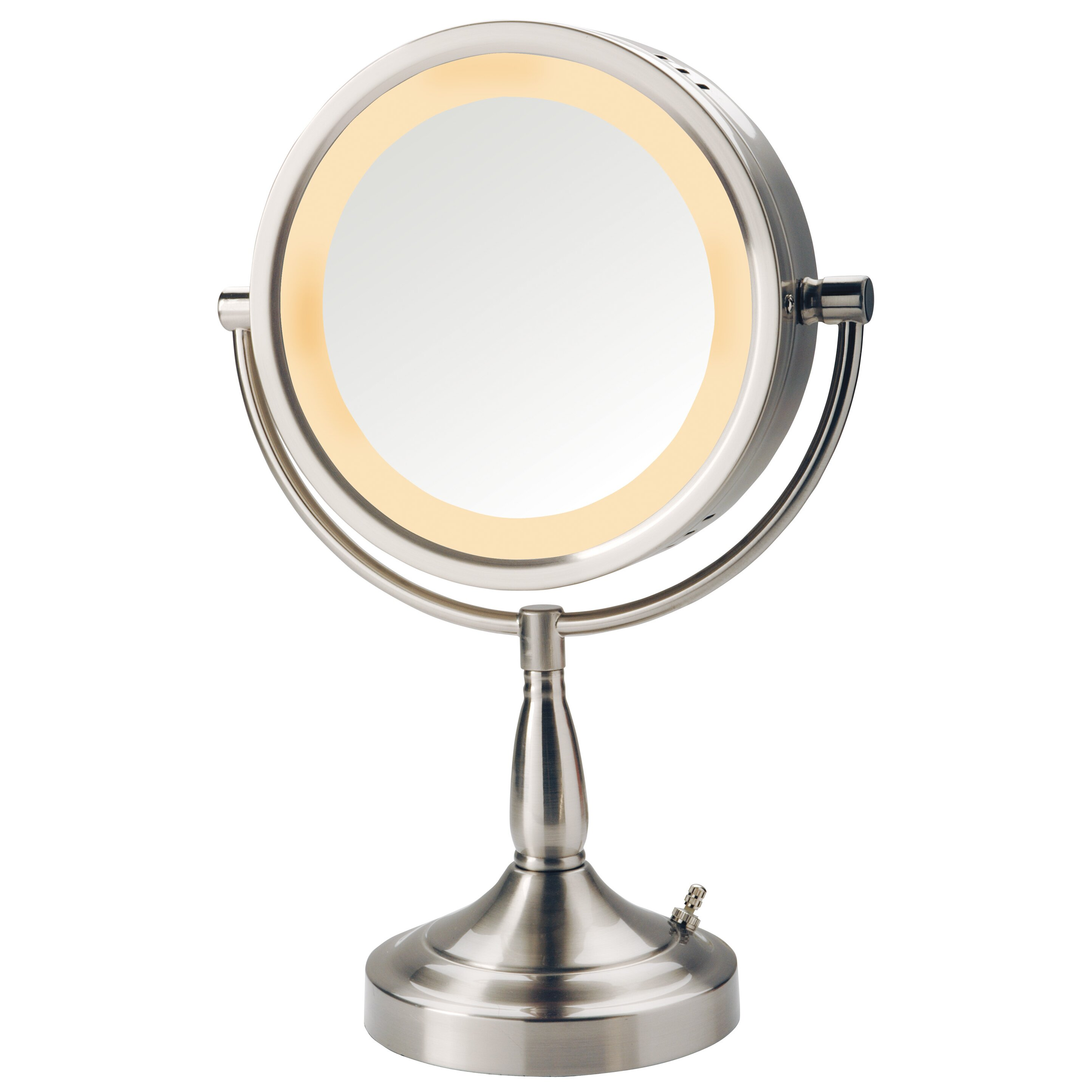 Vanity Mirror With Lights Reviews : Jerdon Halo Lighted Vanity Mirror & Reviews Wayfair