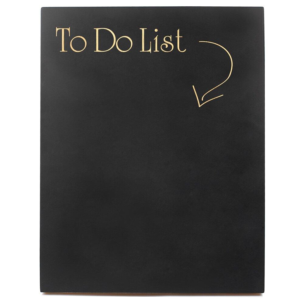 To Do List Sign Chalkboard Wayfair