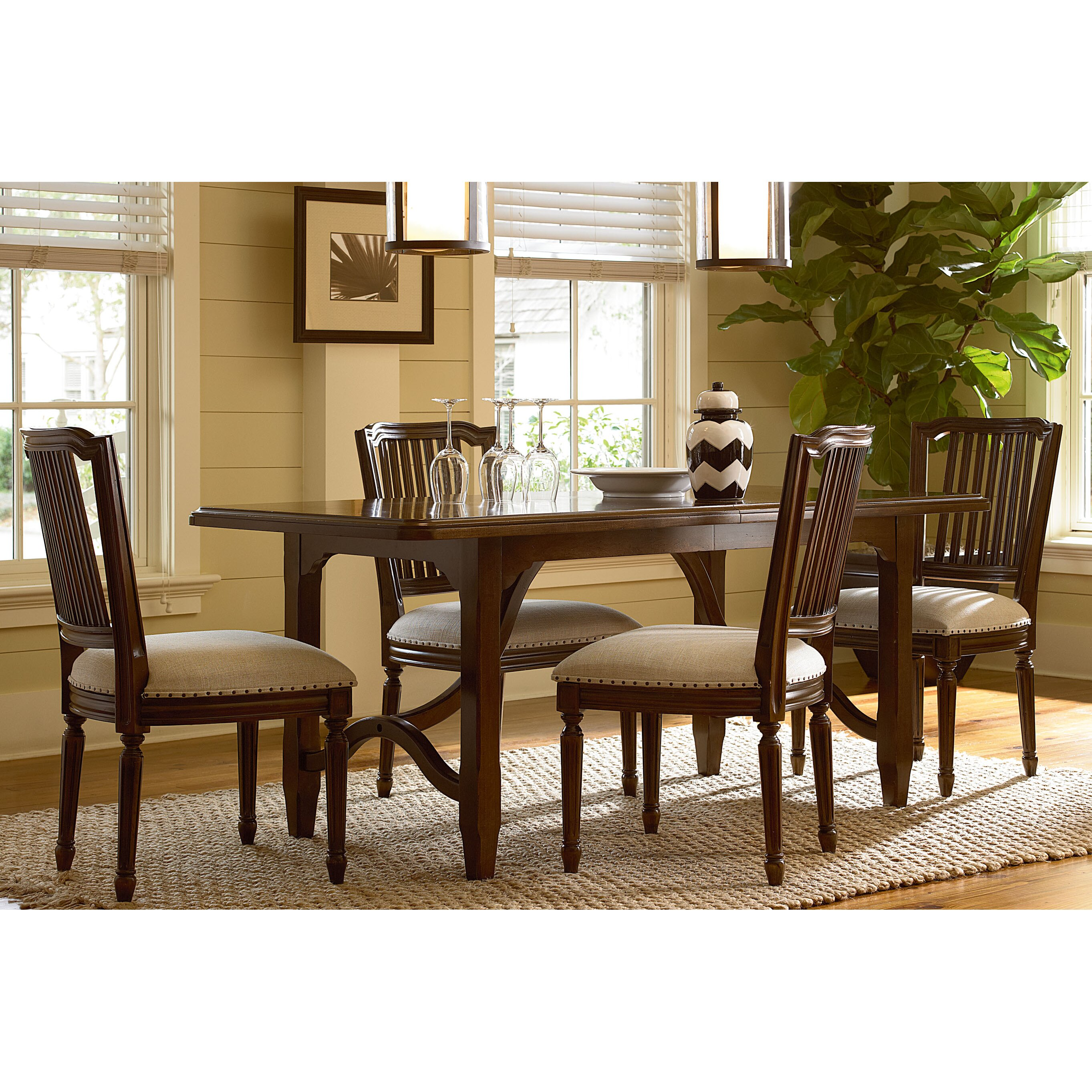 Paula Deen Home River House Extendable Dining Table Reviews Wayfair