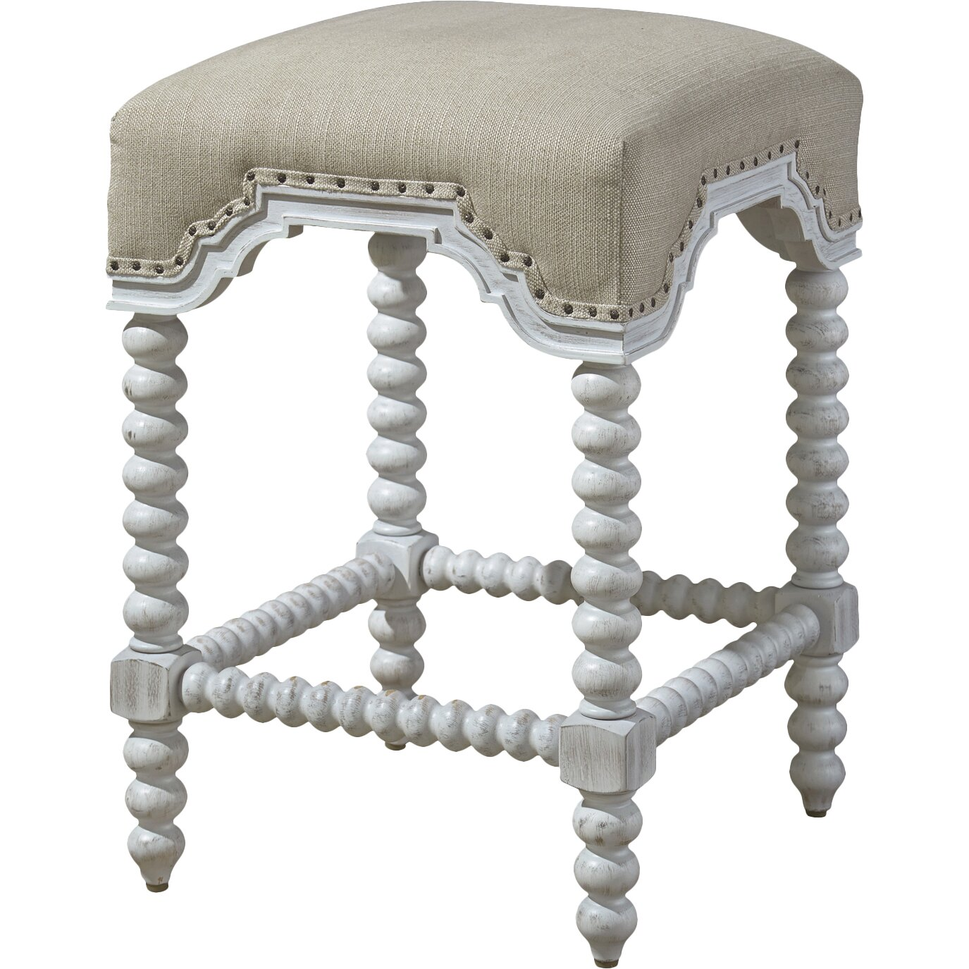Paula Deen Home Dogwood 25 Quot Bar Stool With Cushion