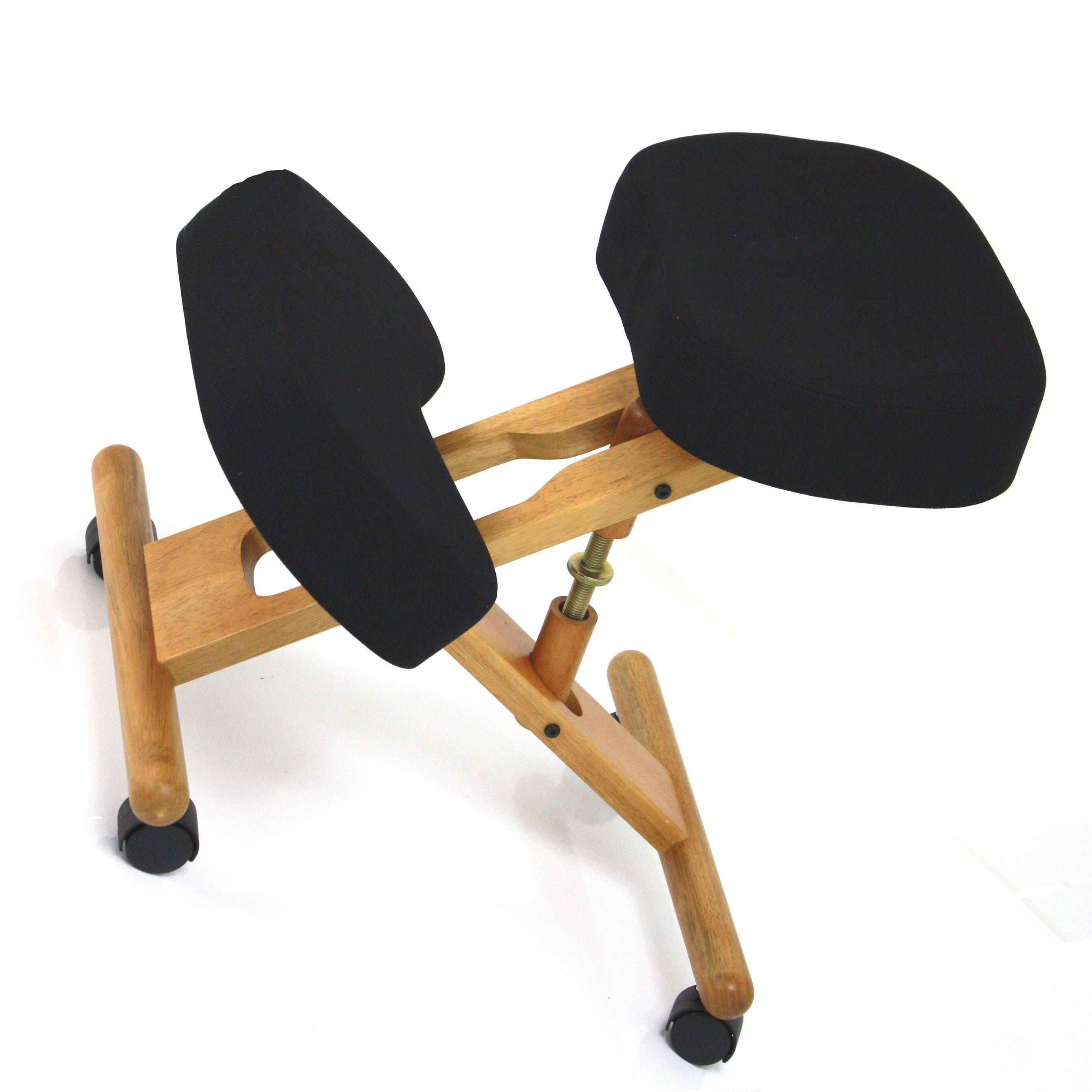Jobri Classic Wood Kneeling Chair & Reviews
