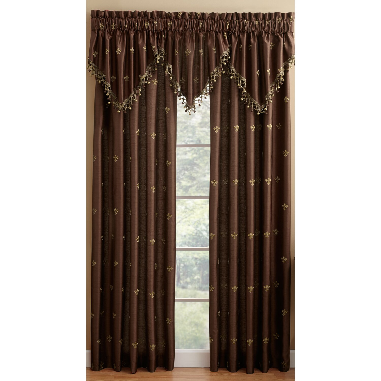 Fleur De Lis Curtains Fleur De Lis Sheer Window Curtain Panel In Ivory Bedbathandbeyond Buy