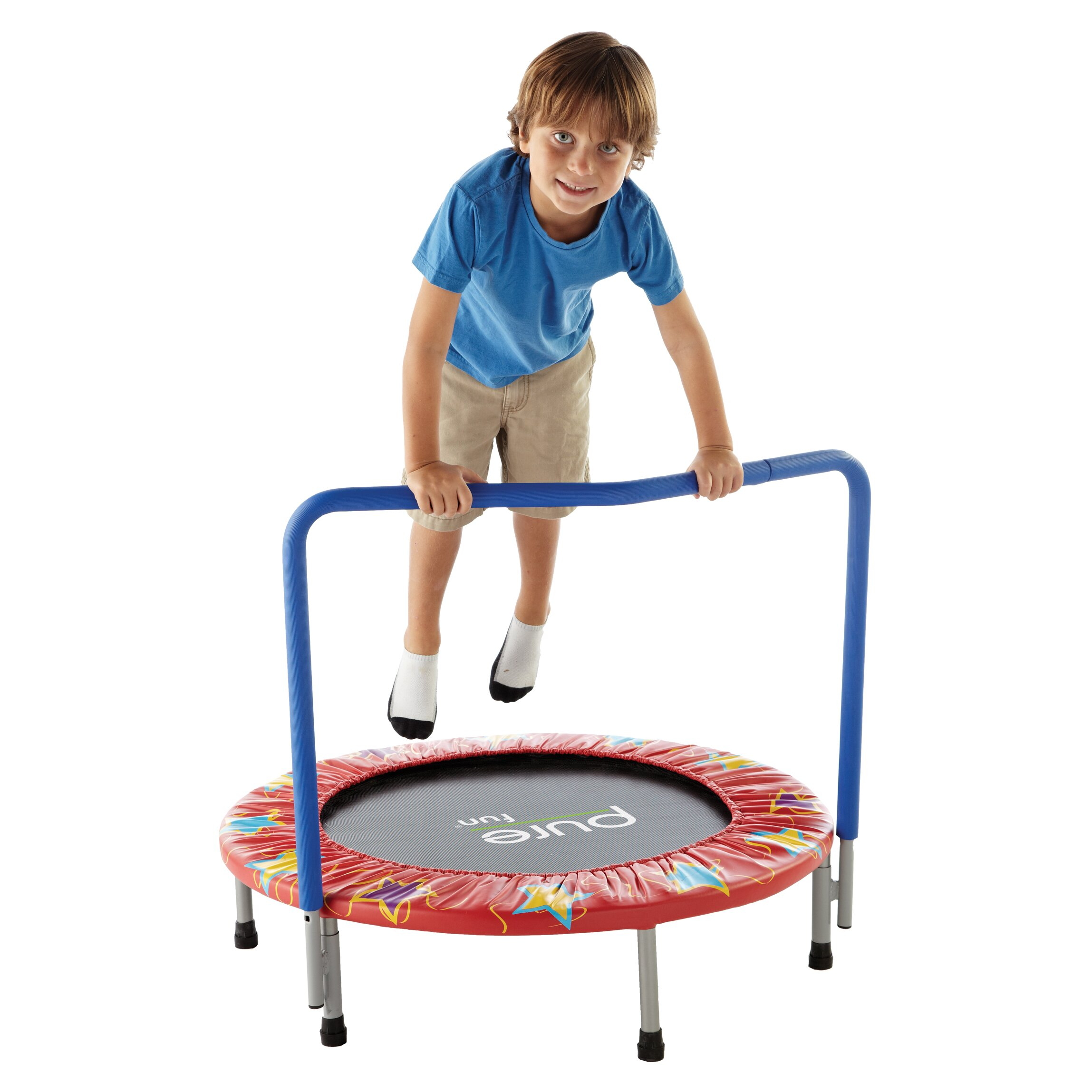 "Pure Fun Kids 36"" Mini Trampoline & Reviews"
