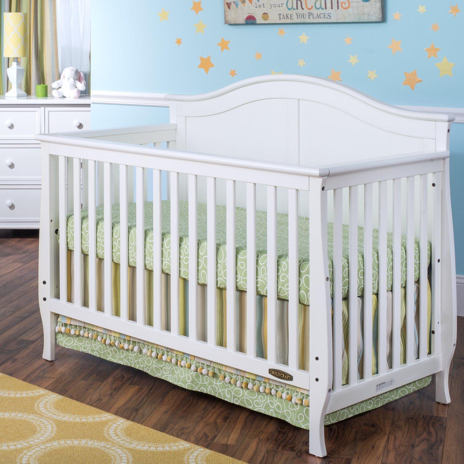 child craft camden 4 in 1 convertible crib reviews wayfair. Black Bedroom Furniture Sets. Home Design Ideas