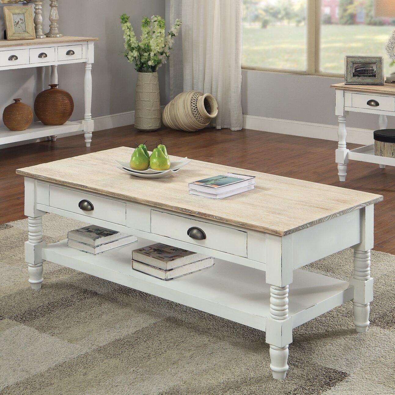 august grove abby ann coffee table reviews wayfair. Black Bedroom Furniture Sets. Home Design Ideas