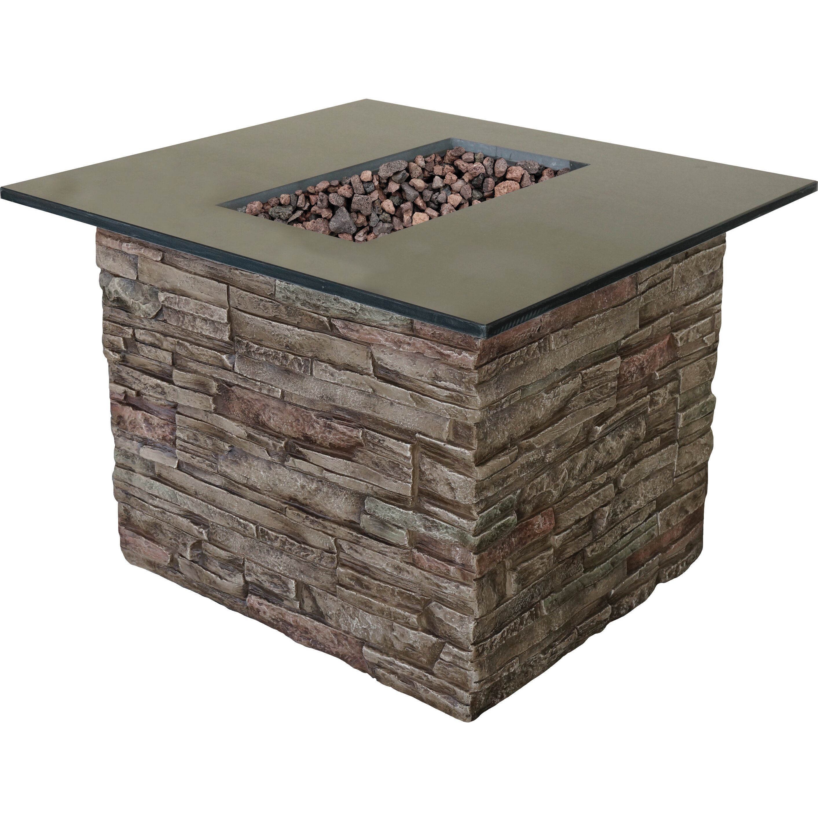 Bond Monterey Gas Outdoor Table Top Fireplace & Reviews