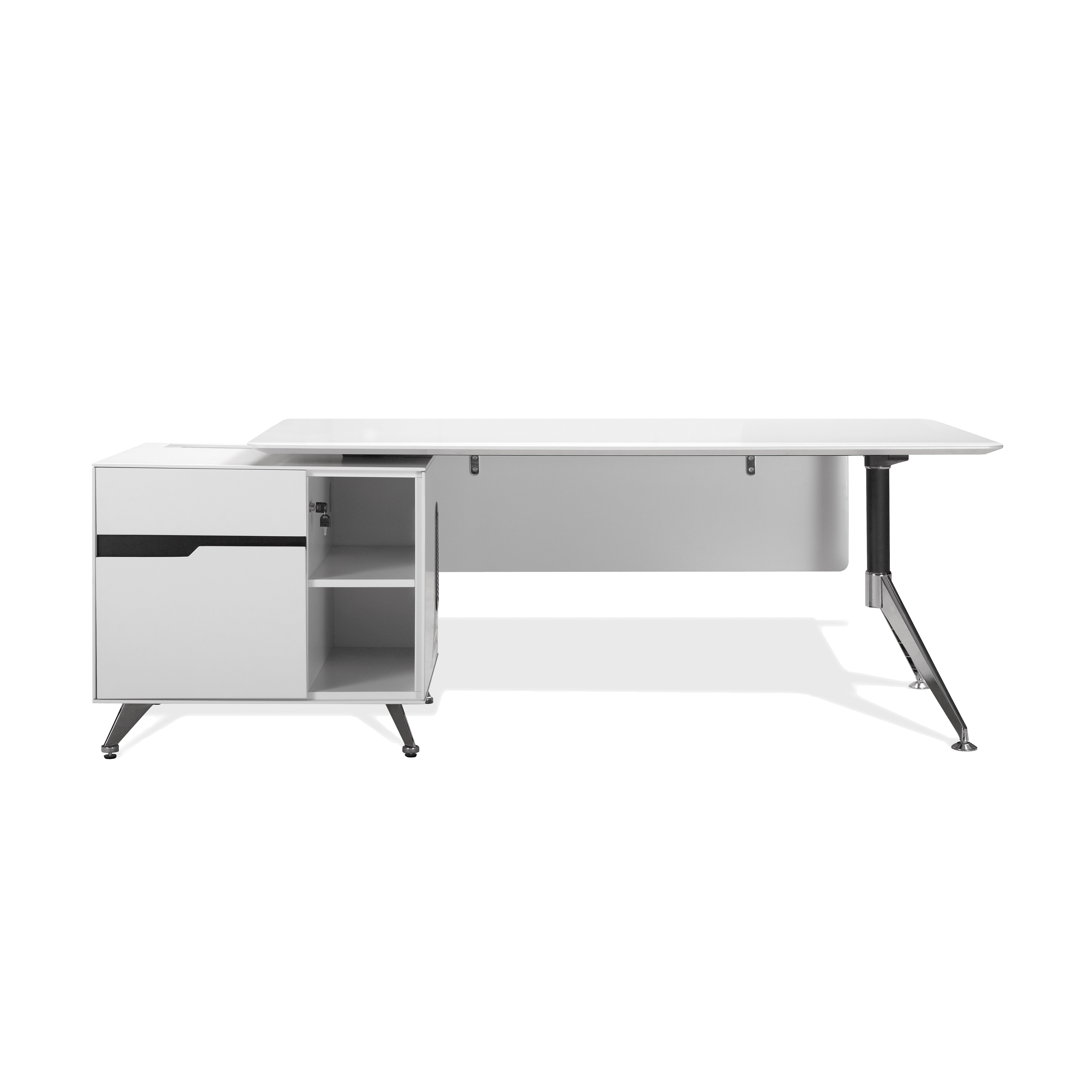 Jesper office 400 collection executive desk reviews wayfair - Jesper office desk ...