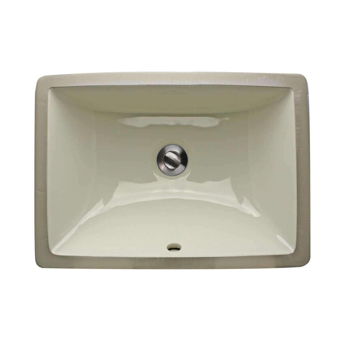 Nantucket Sinks Rectangle Ceramic Undermount Bathroom Sink