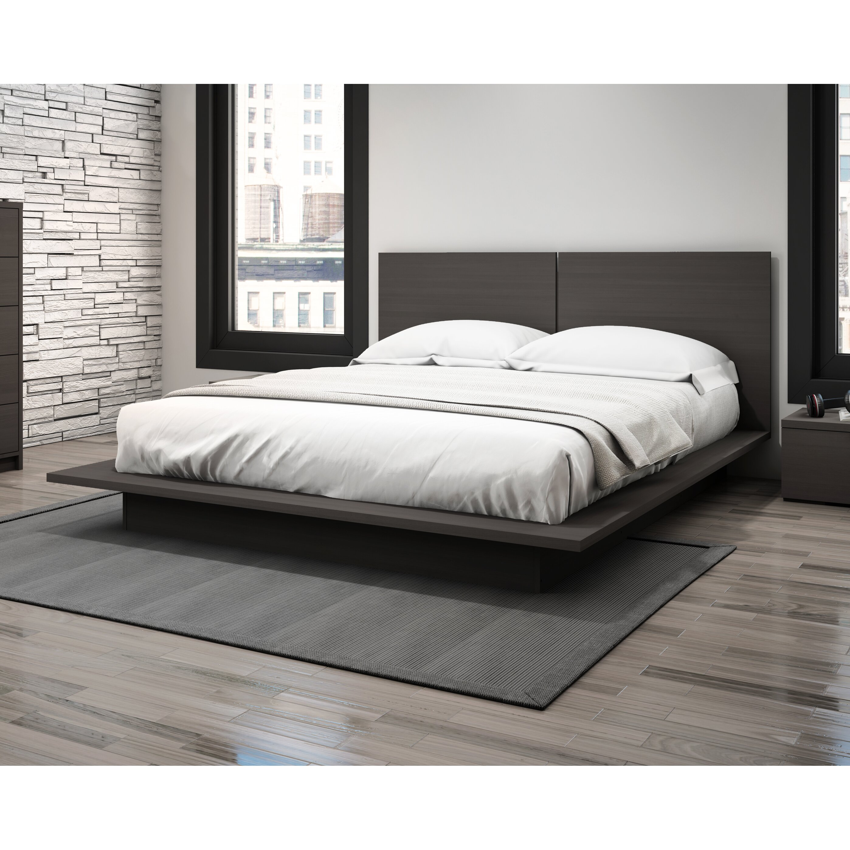 Stellar Home Queen Platform Bed Reviews Wayfair