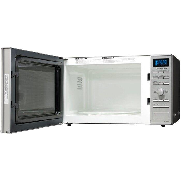 Panasonic 1 2 Cu Ft 1200w Countertop Built In Microwave