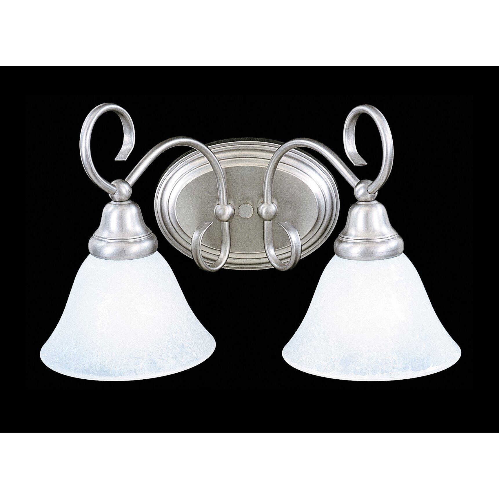 black forest 2 light bath piastra glass vanity light by framburg