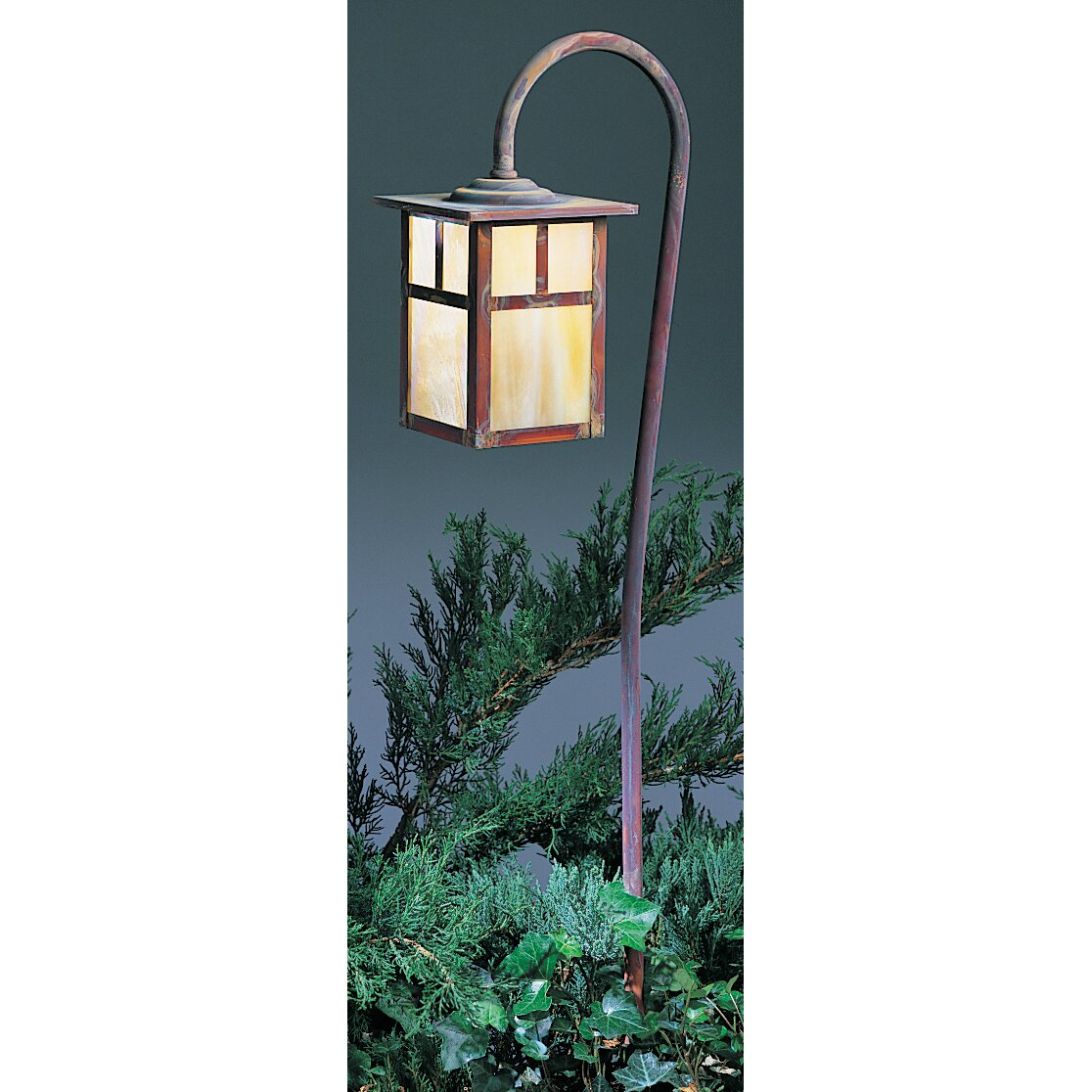 mission 1 light pathway lighting by arroyo craftsman