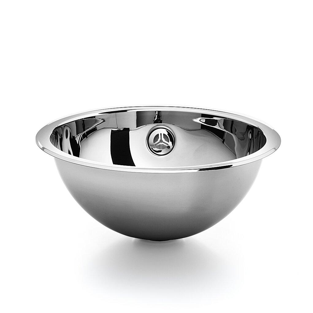 Stainless Steel Bathroom Sinks : Home Improvement Bathroom Fixtures ... WS Bath Collections Part ...
