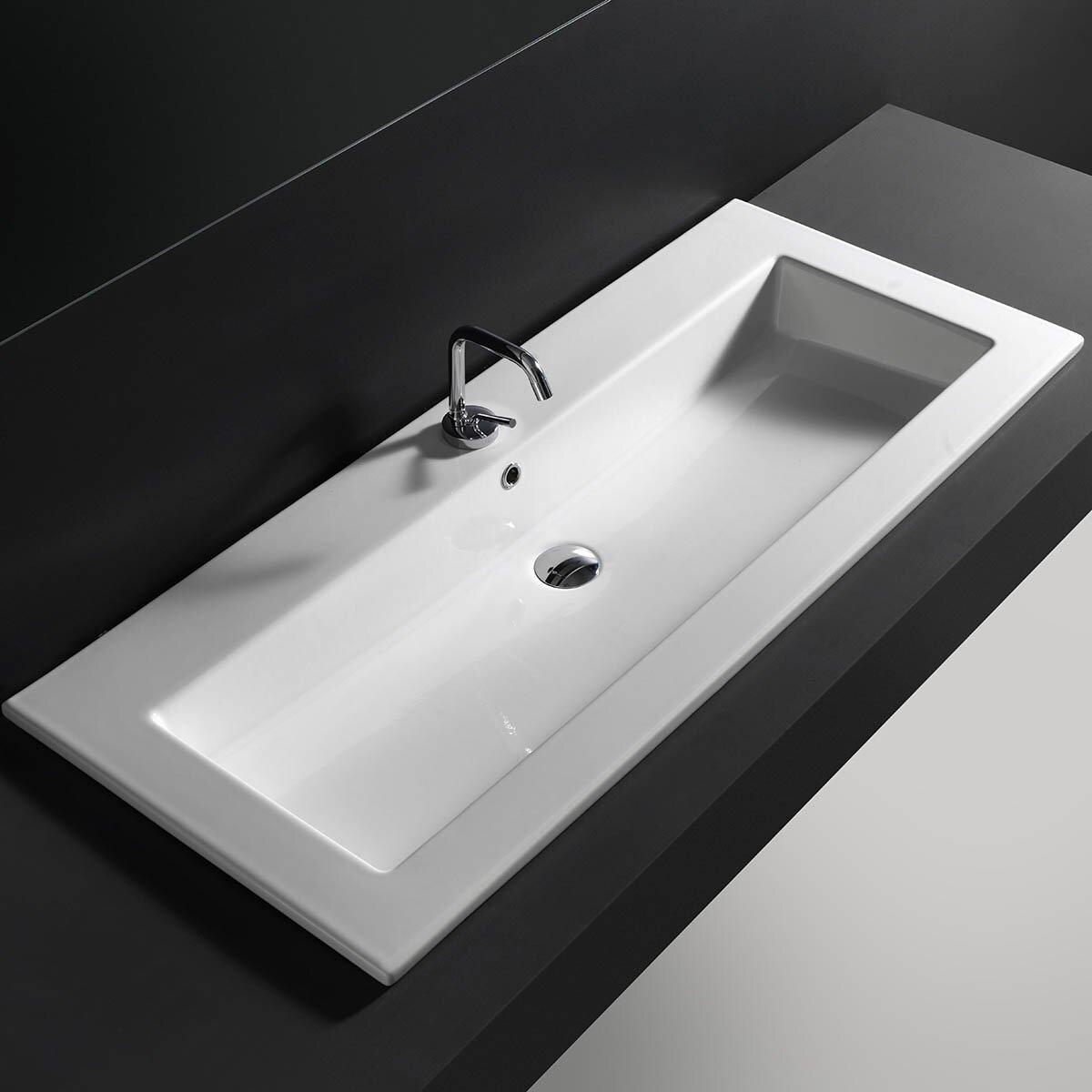 Bathroom Sink Drop In : Improvement Bathroom Fixtures ... WS Bath Collections Part #: Drop ...