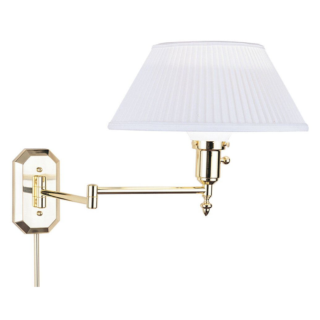 swing arm wall lamp wayfair supply. Black Bedroom Furniture Sets. Home Design Ideas