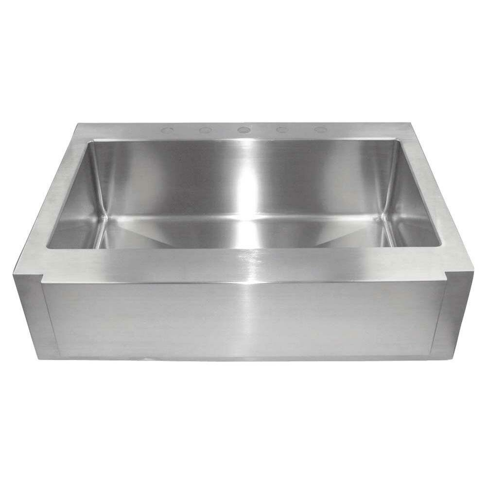 Drop In Farmhouse Kitchen Sink : 36