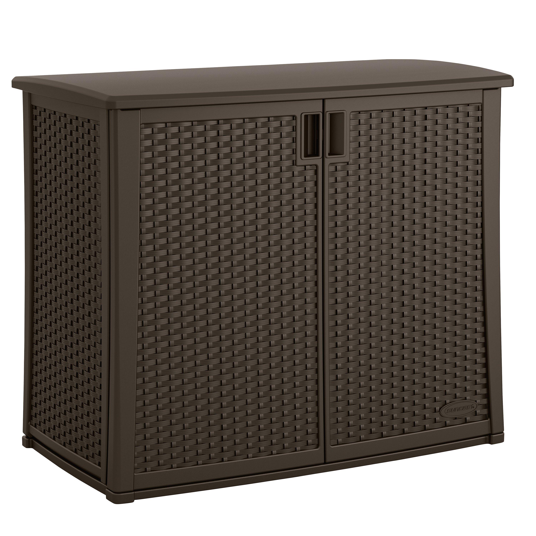 Suncast H X W X 23 D Outdoor Storage Cabinet Reviews Wayfair