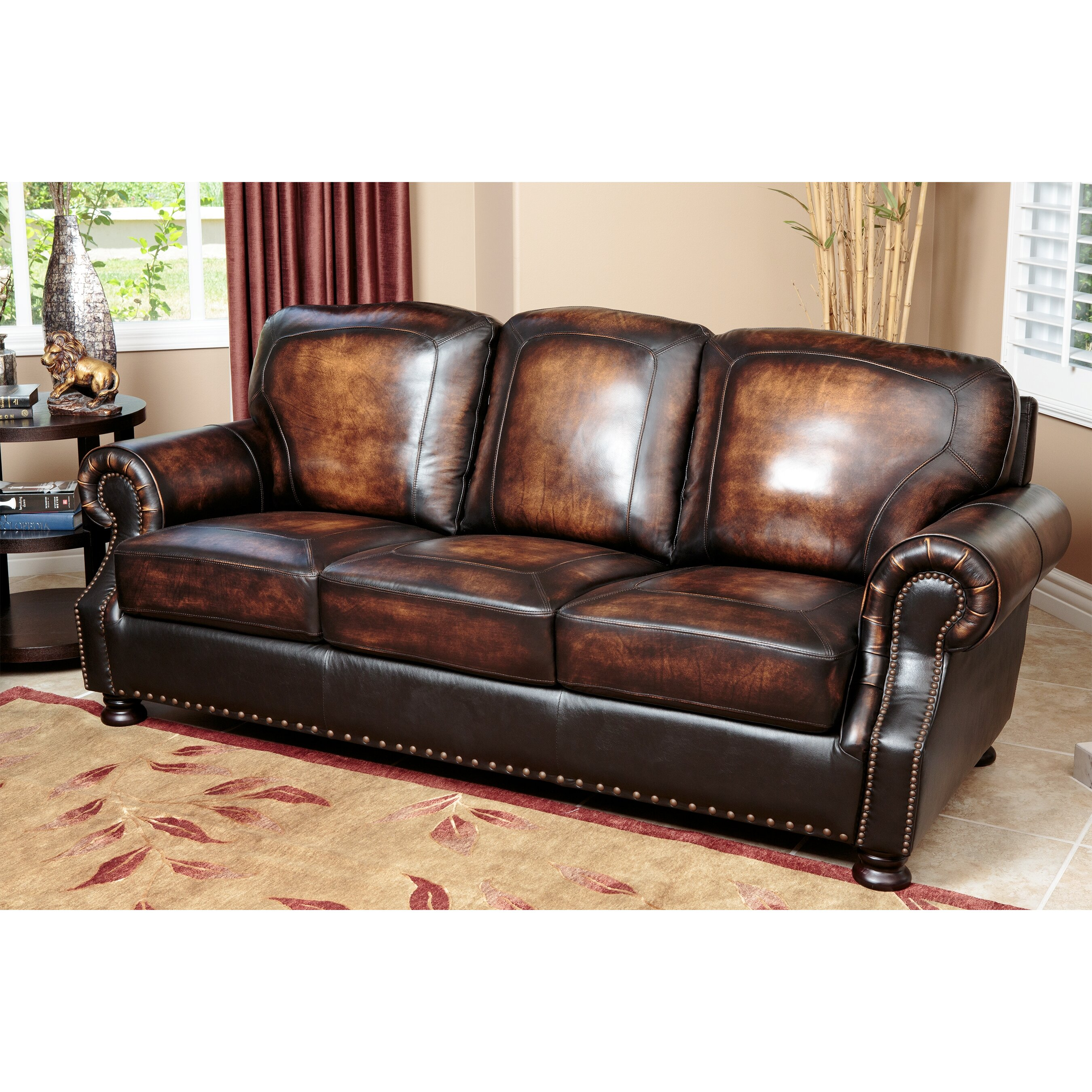 Abbyson Living Sienna Sofa Reviews Wayfair