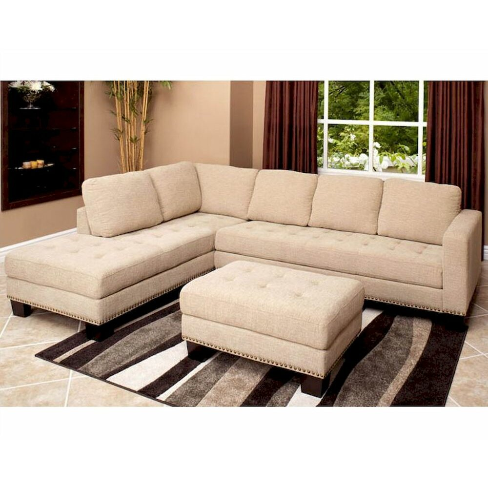 abbyson living clardige sectional reviews wayfair