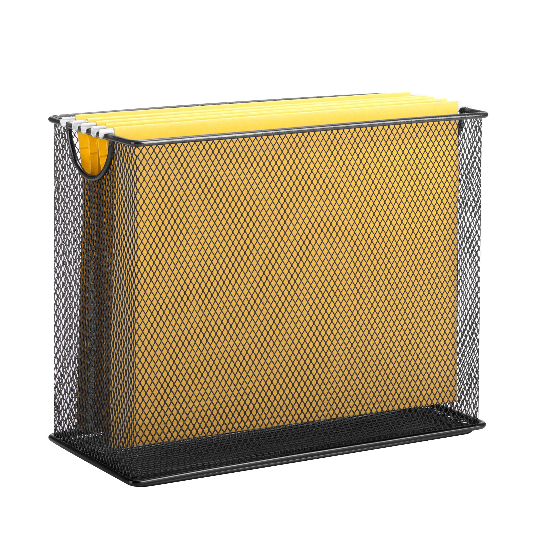 honey can do table top hanging file organizer reviews wayfair. Black Bedroom Furniture Sets. Home Design Ideas