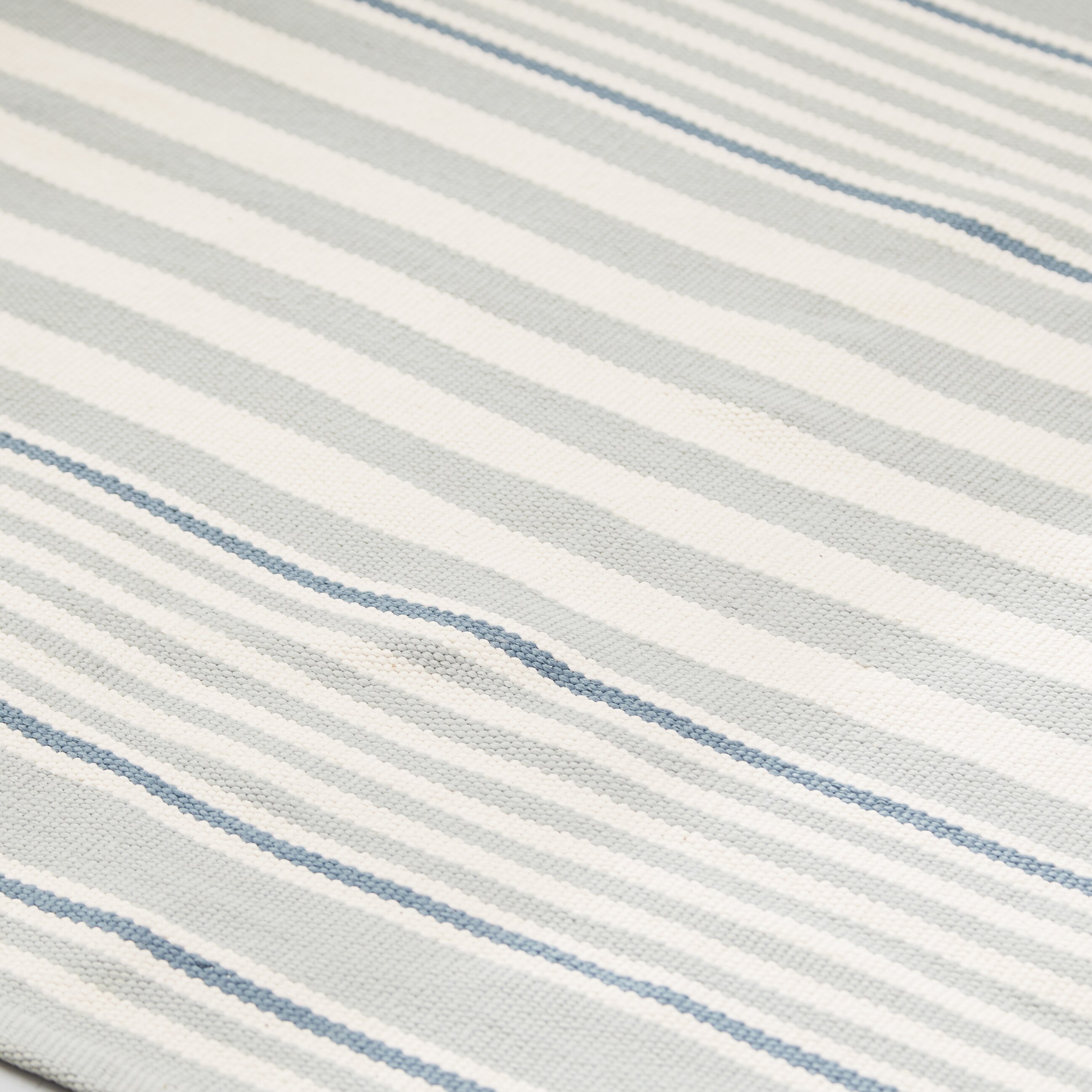 dash and albert rugs rugby light blue striped indoor. Black Bedroom Furniture Sets. Home Design Ideas