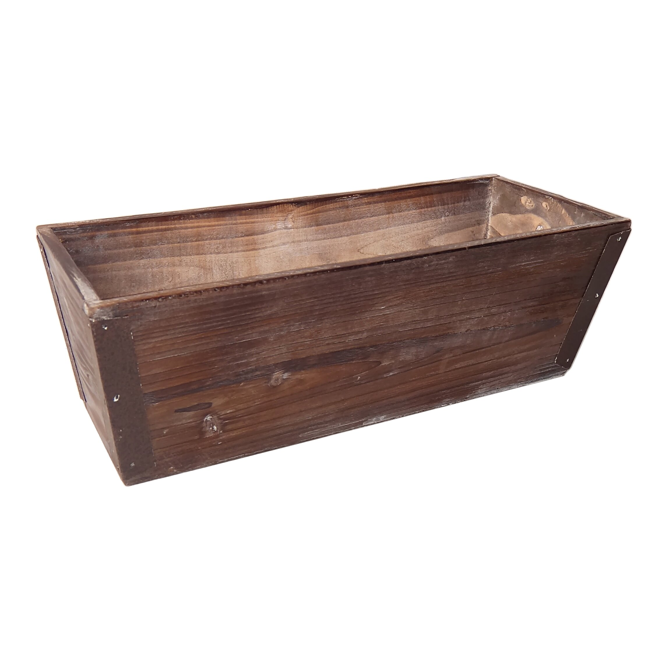Cheungs wooden rectangular planter box reviews wayfair for Wayfair garden box