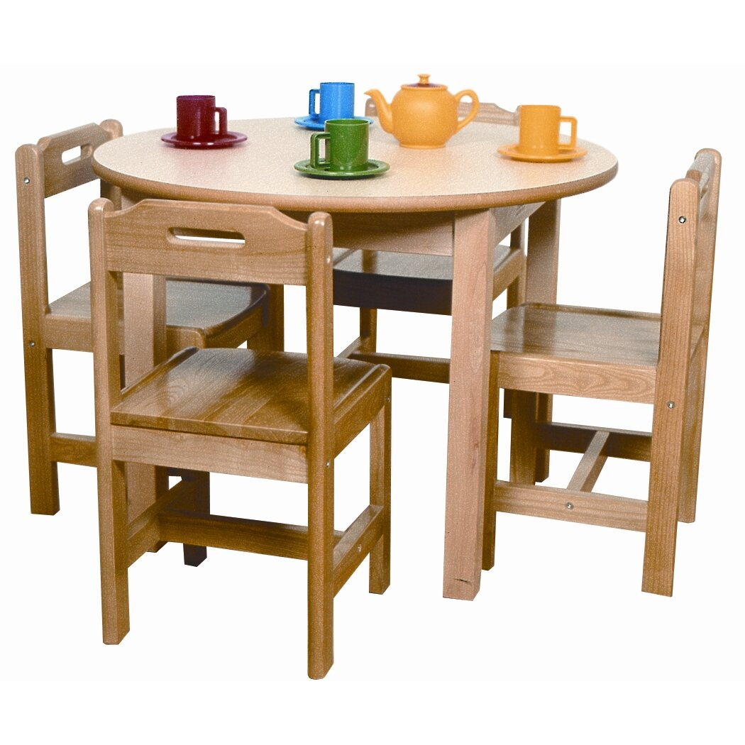 A Child Supply Kids Table and Chair Set & Reviews