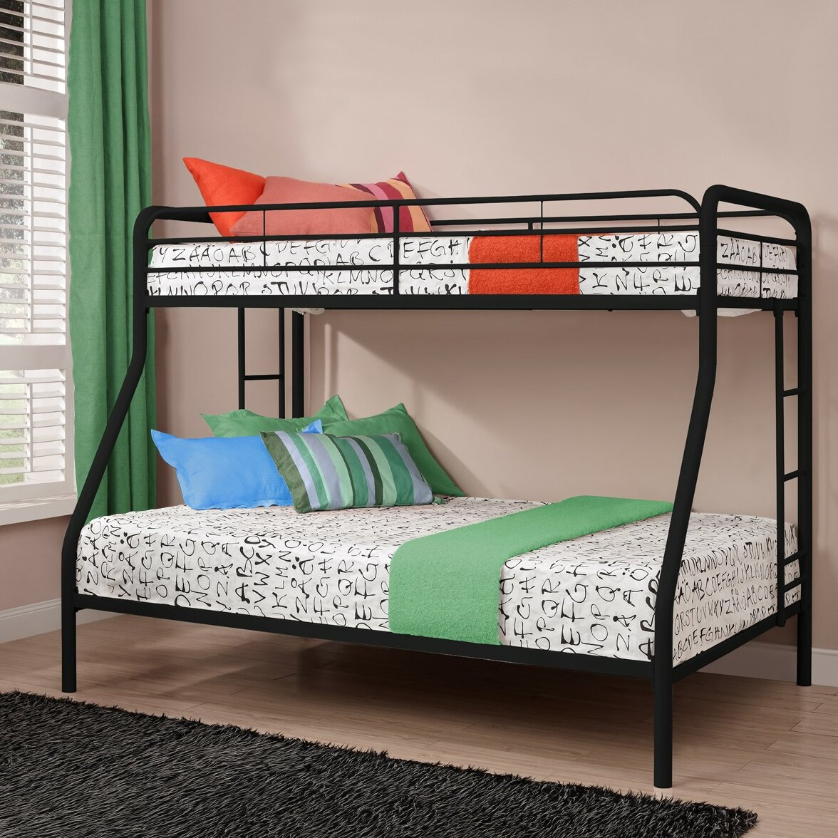 DHP Twin over Full Bunk Bed & Reviews