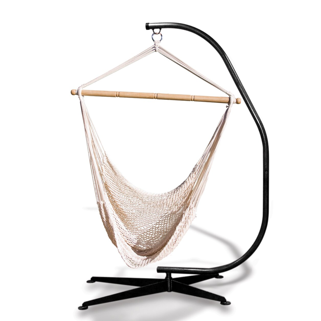 Hammaka Suelo Stand and Rope Hammock Chair Combo & Reviews ...
