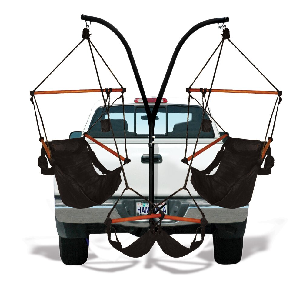 Hammaka Trailer Hitch Stand And Hammock Chair Combo