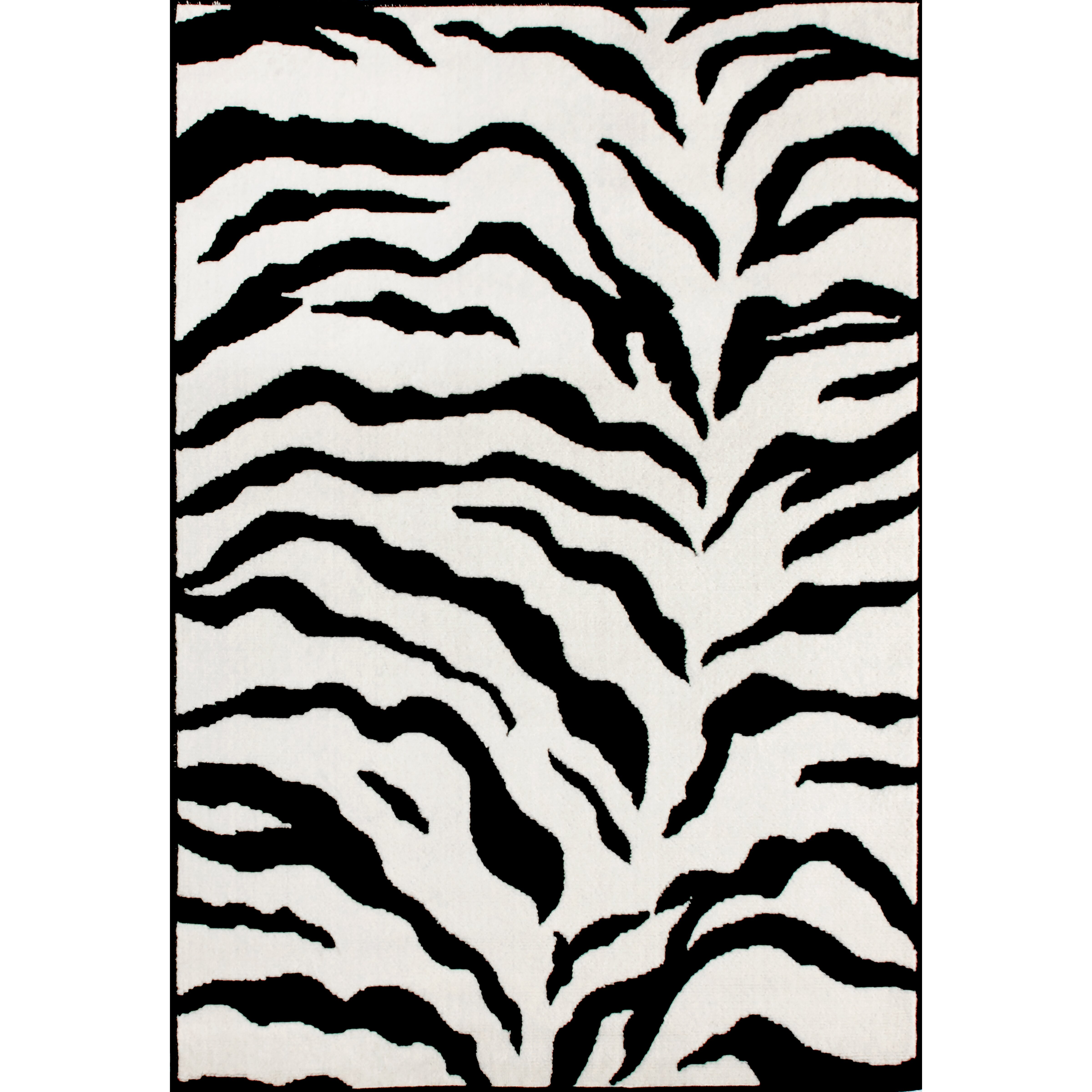 Graham And Green Zebra Rug: NuLOOM Earth Zebra Print Black & Ivory Area Rug & Reviews