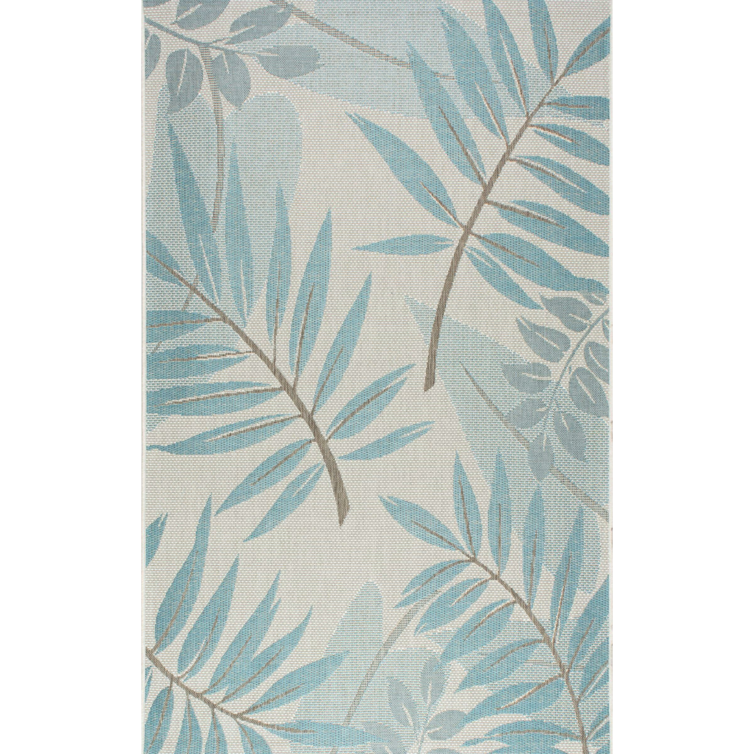 Nuloom Crandall Turquoise Area Rug Reviews: NuLOOM Trudy Turquoise Indoor/Outdoor Area Rug & Reviews