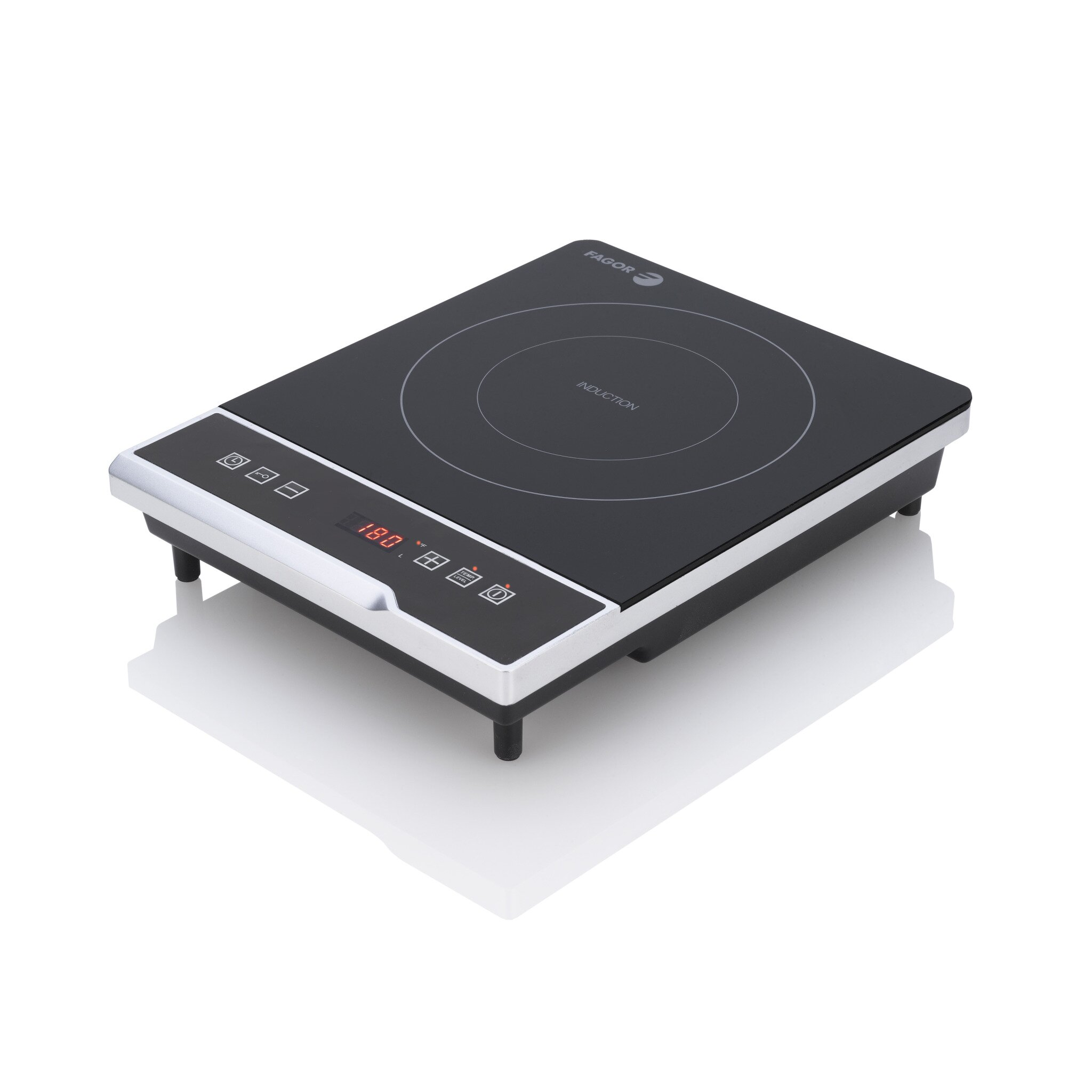"11.42"" Electric Induction Cooktop With 1 Burner"