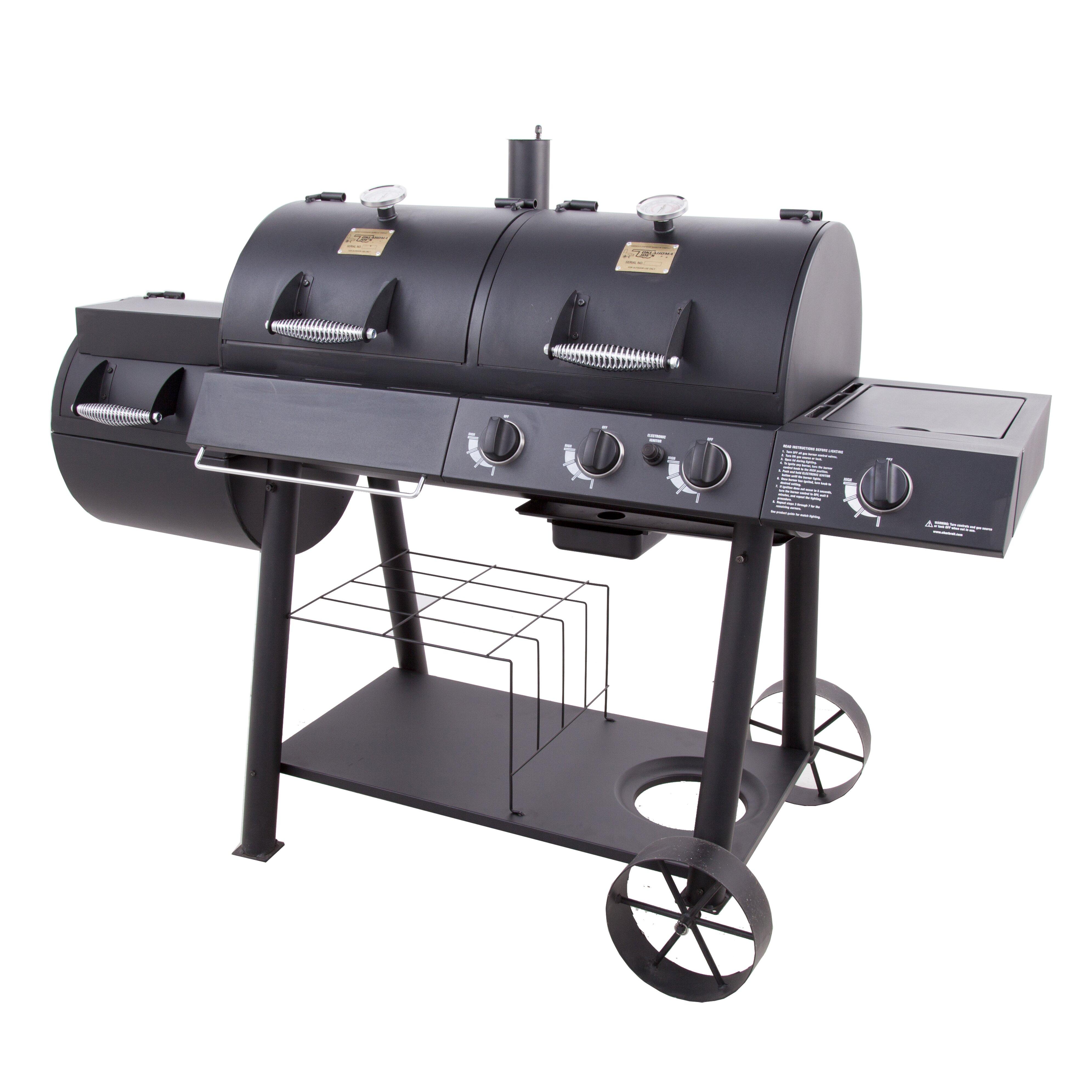 Backyard Bbq Okc: Oklahoma Joe's Charcoal Smoker And Grill