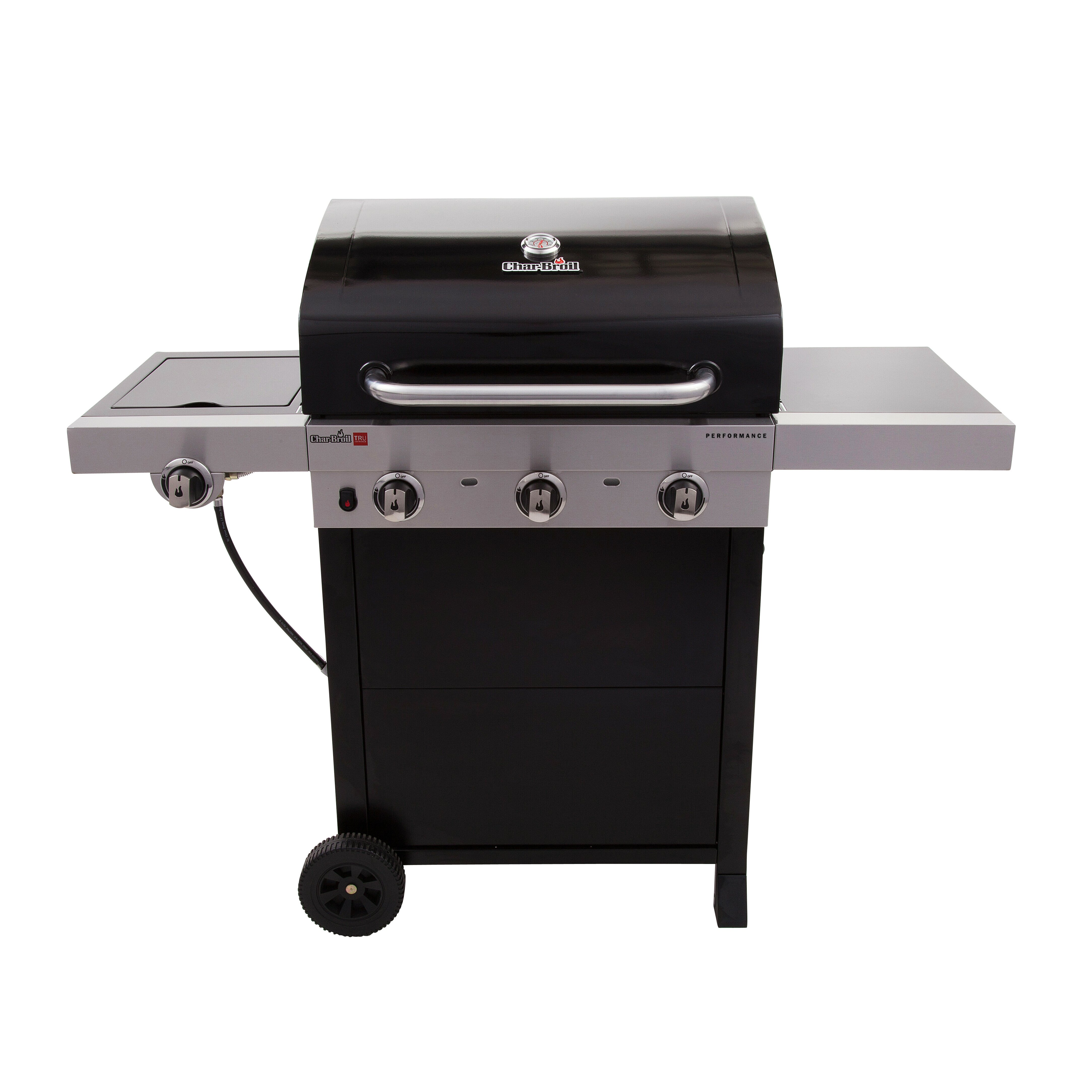Sides On The Grill: Performance Gas Grill With Side Burner