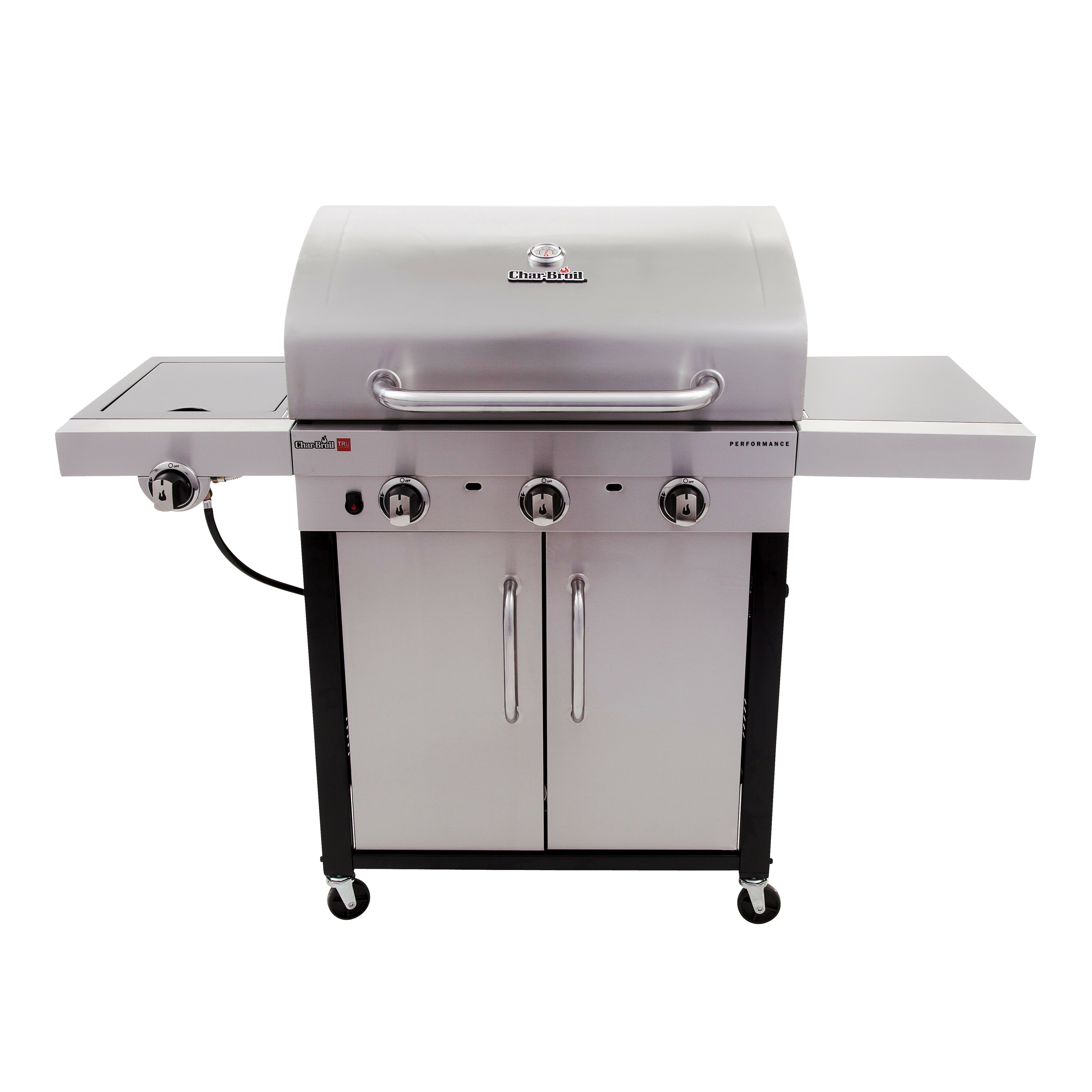 Sides On The Grill: CharBroil Performance Gas Grill With Side Burner & Reviews