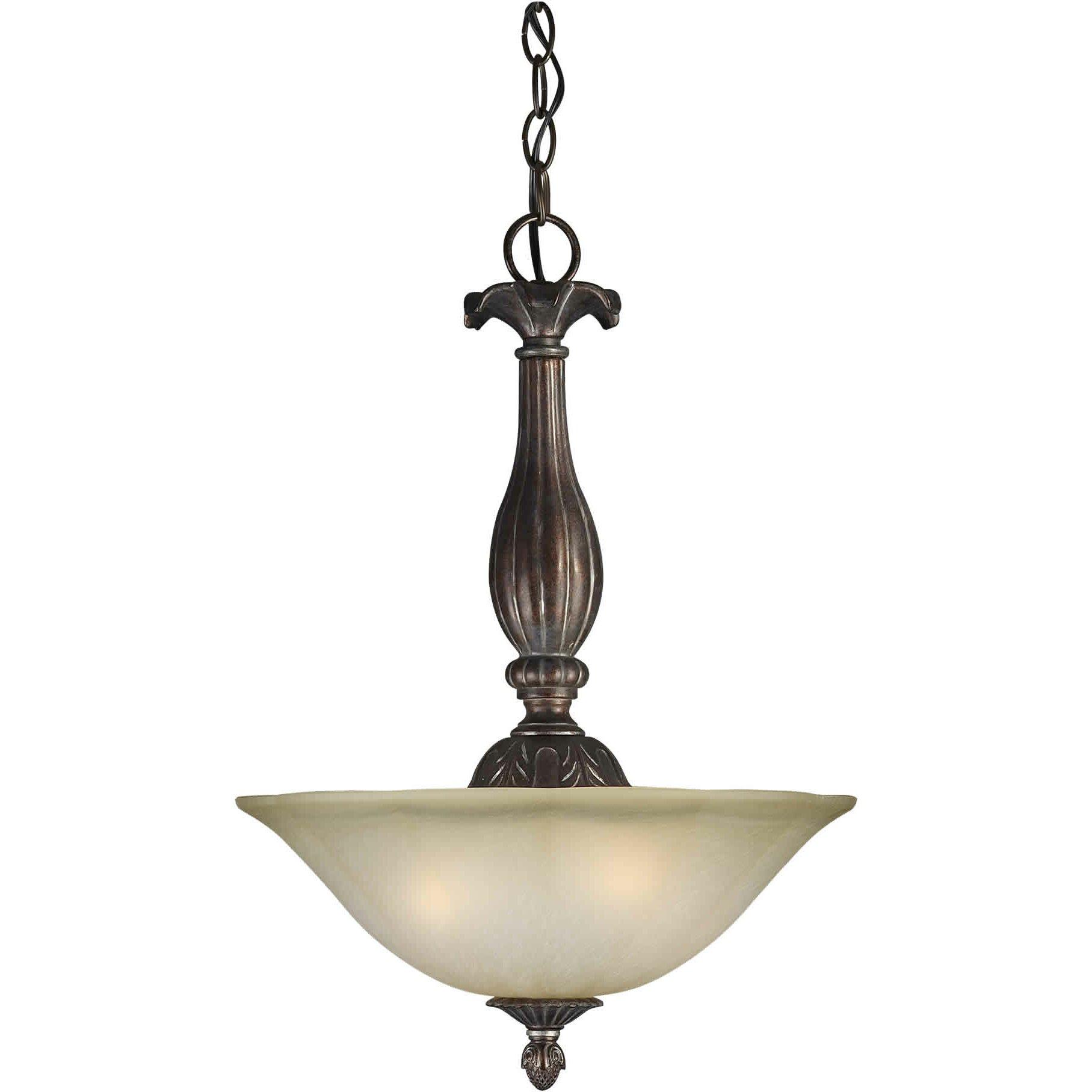 lighting ceiling lights bowl or inverted pendants forte lighting. Black Bedroom Furniture Sets. Home Design Ideas