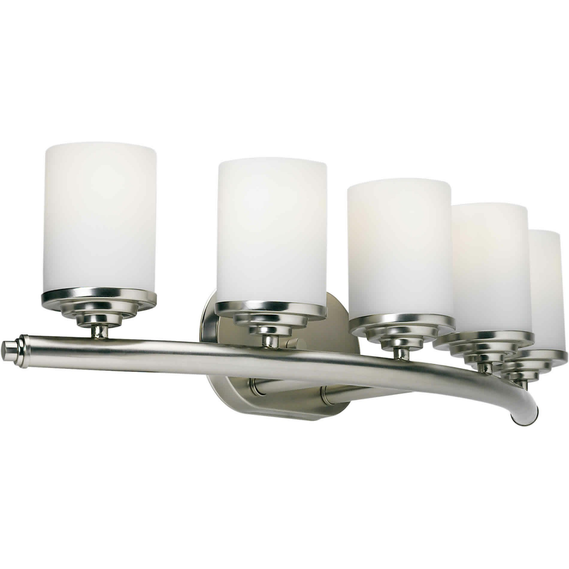 5 Light Bathroom Vanity Light: Forte Lighting 5 Light Vanity Light & Reviews