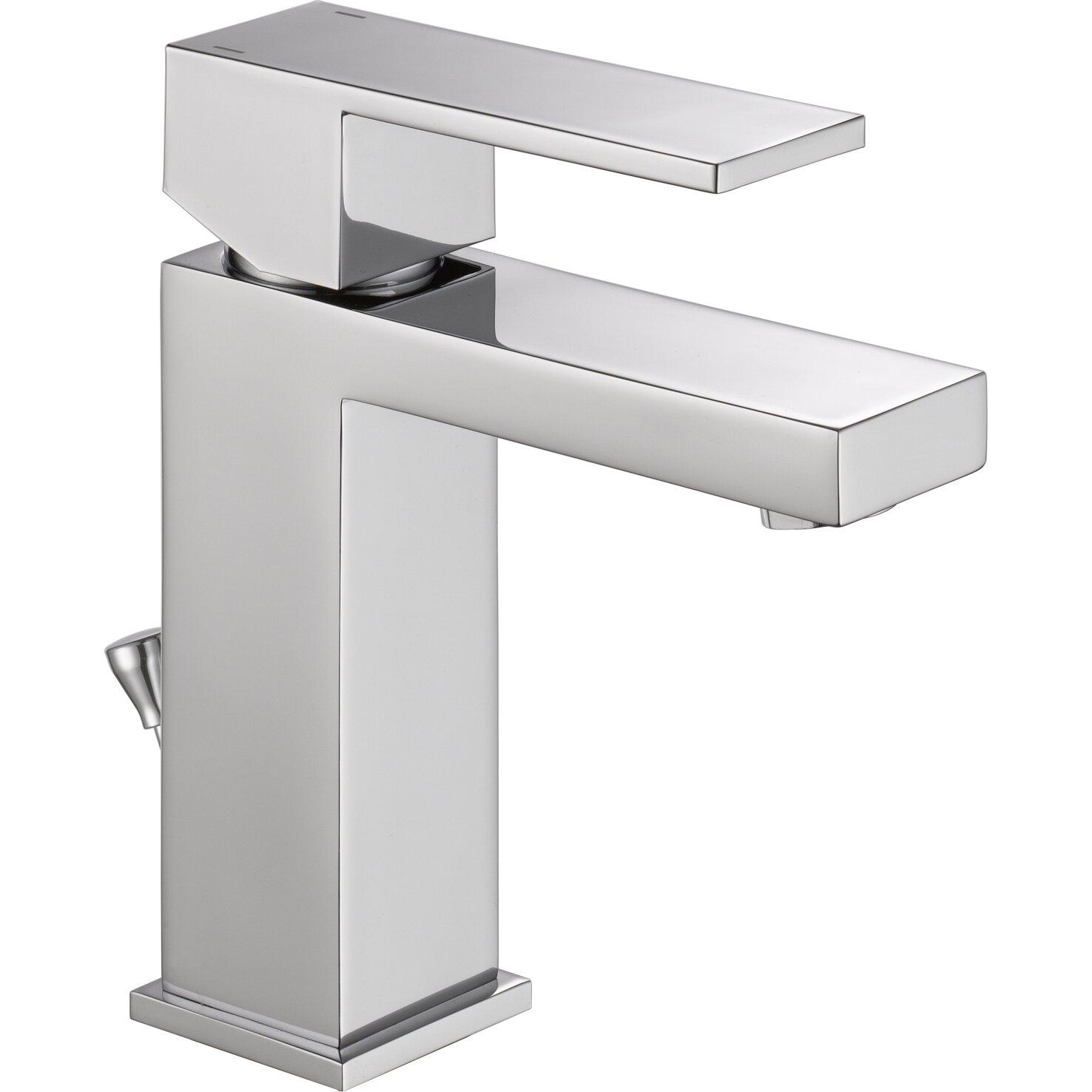 Delta Ara Single Handle Centerset Lavatory Faucet with ...