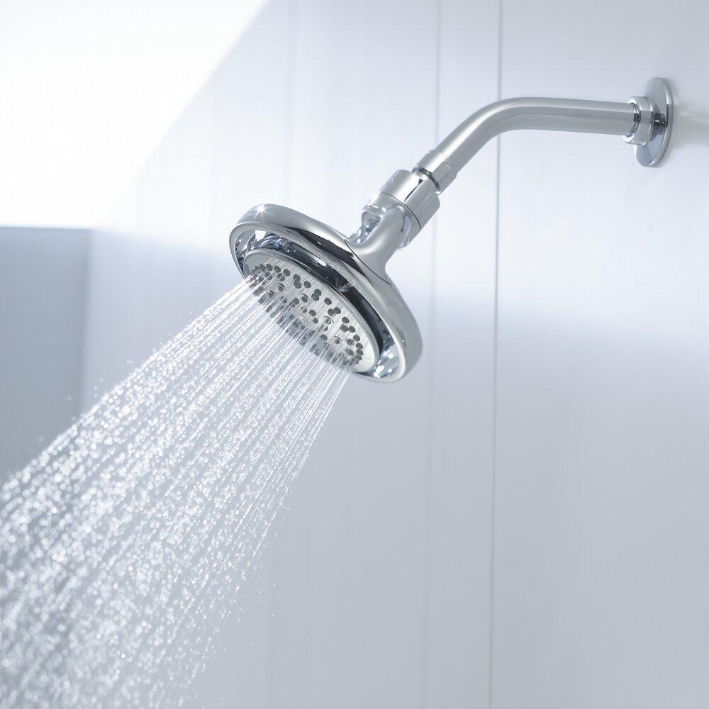 kohler flipside 25 gpm wallmount shower head u0026 reviews