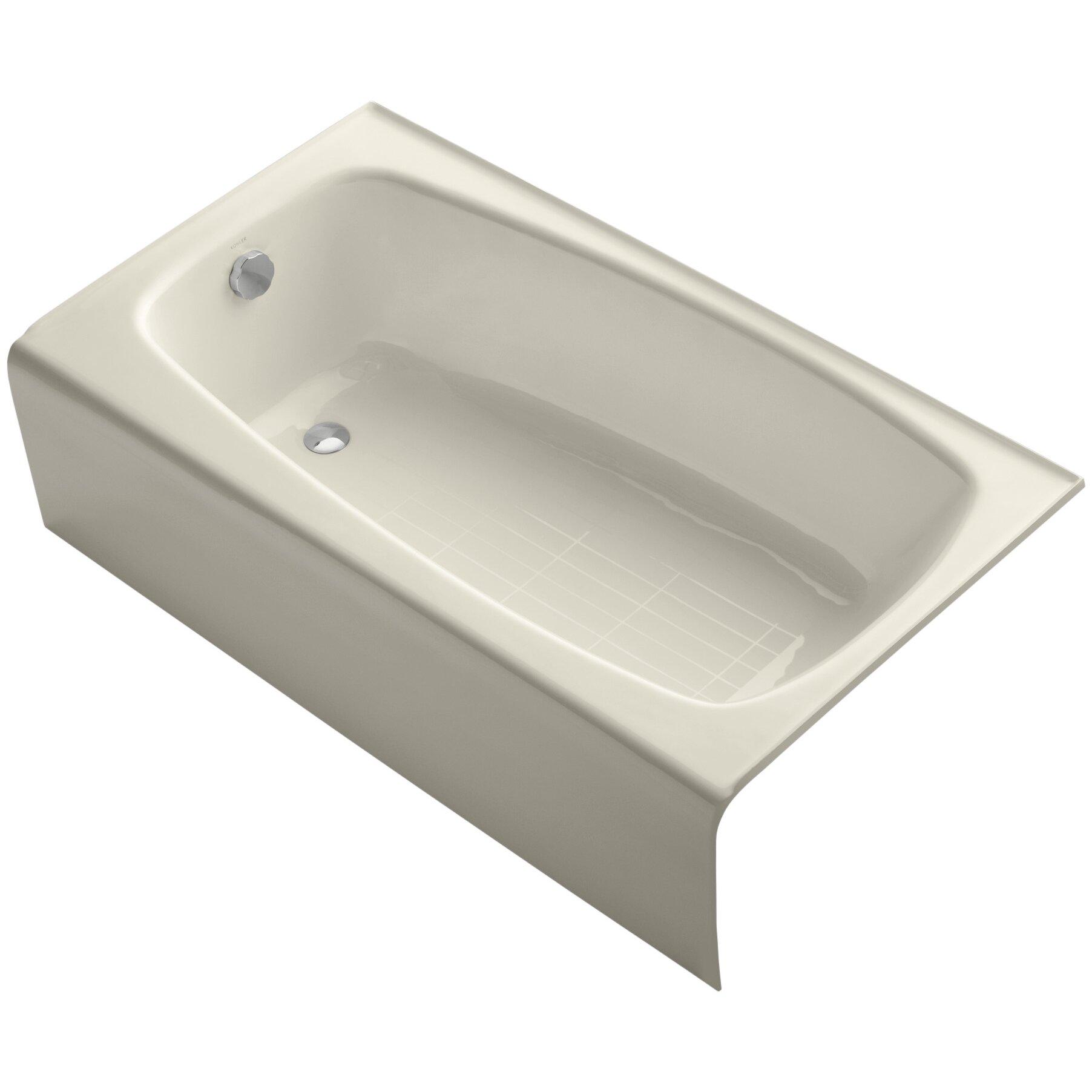 Bathtub Kohler : Home Improvement Bathroom Fixtures ... Kohler Part #: K-745 SKU ...
