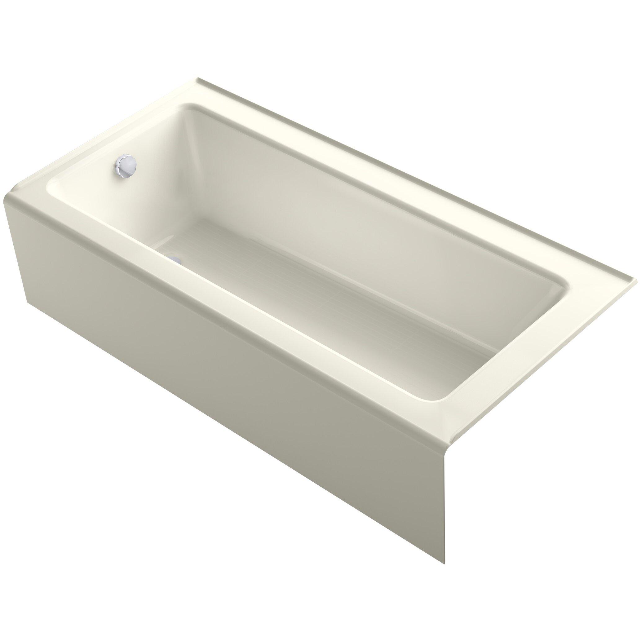 "Bellwether Alcove 66"" X 32"" Soaking Bathtub"