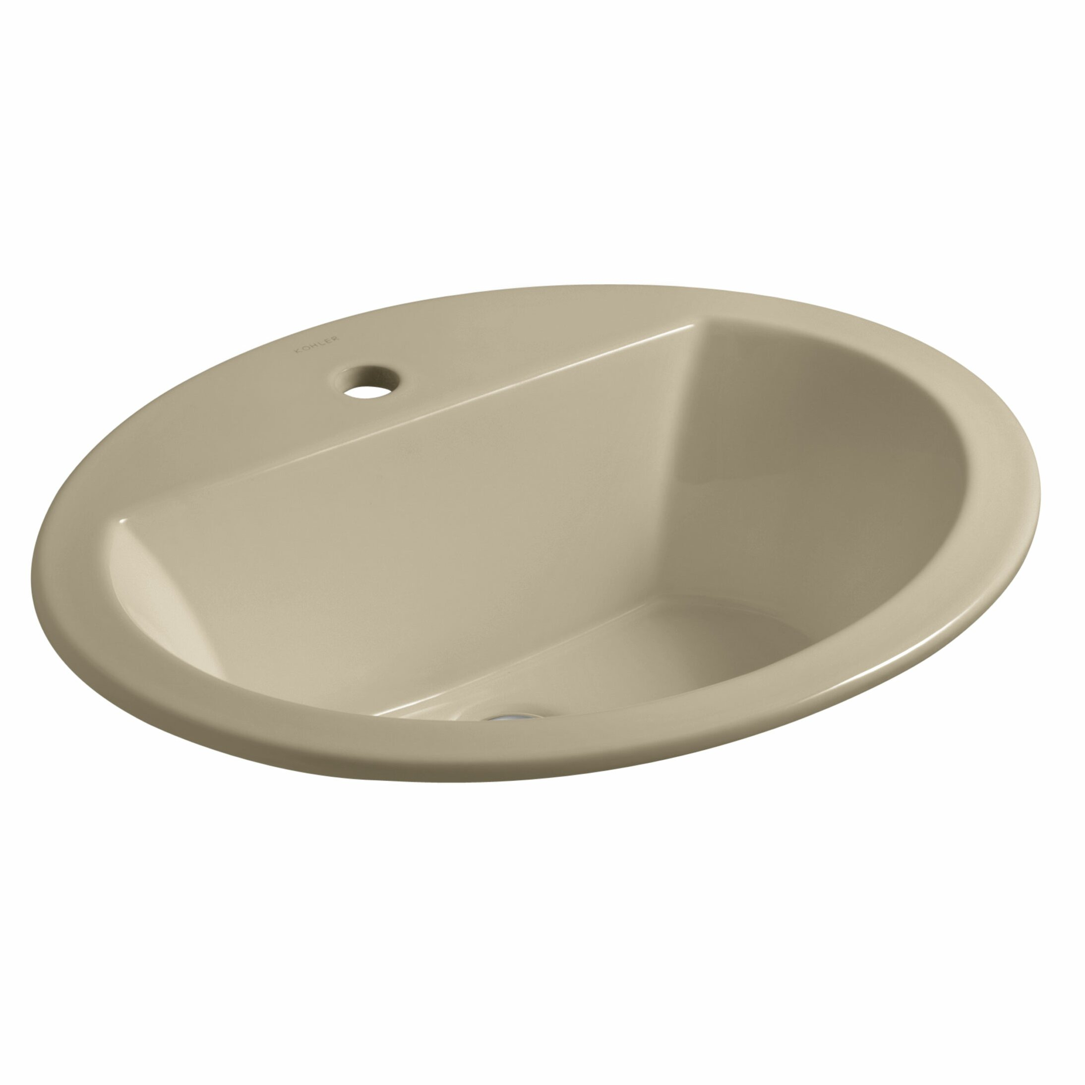 kohler bryant oval drop in bathroom sink with single faucet hole review. Black Bedroom Furniture Sets. Home Design Ideas