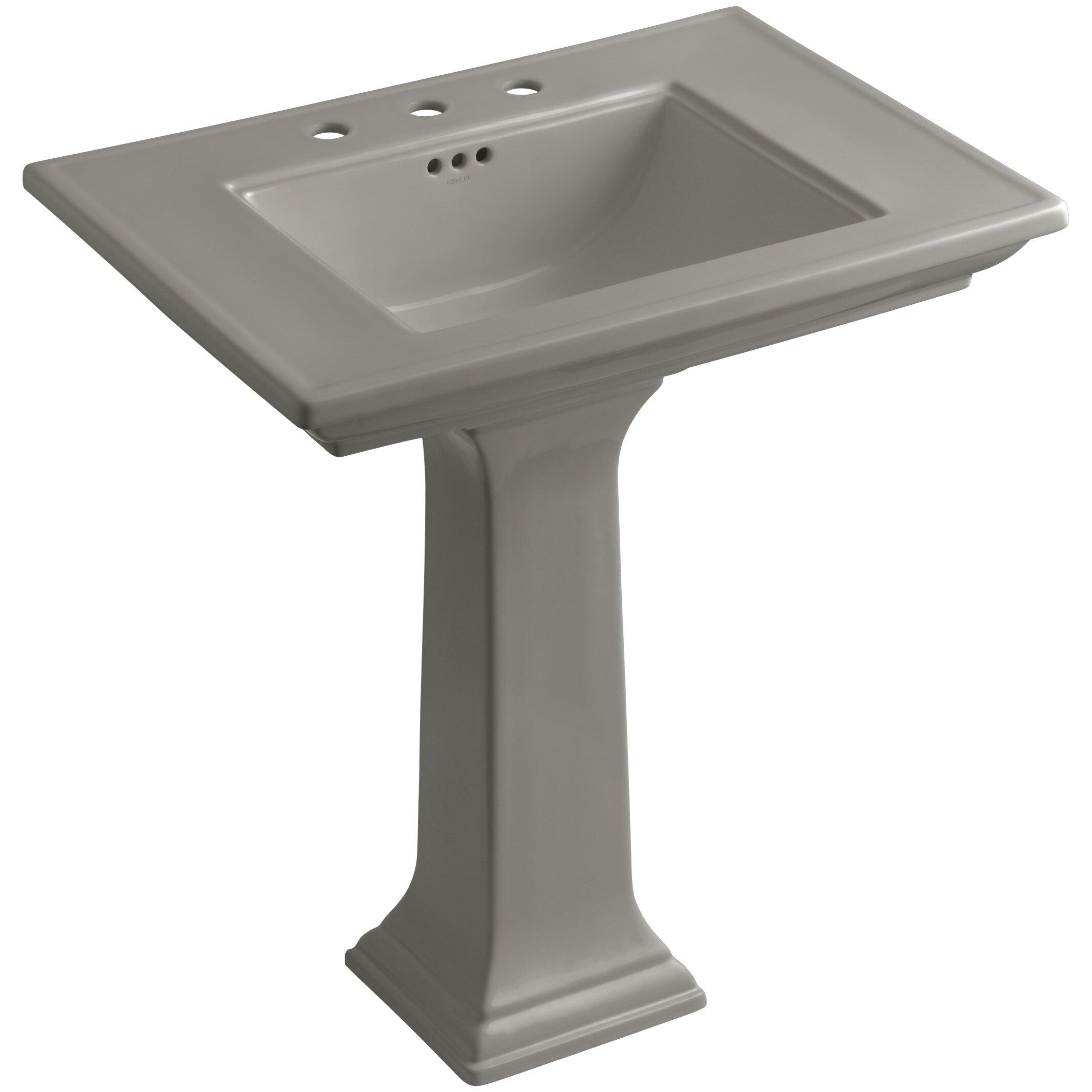 Kohler Memoirs Pedestal Sink : Kohler Memoirs Stately 30