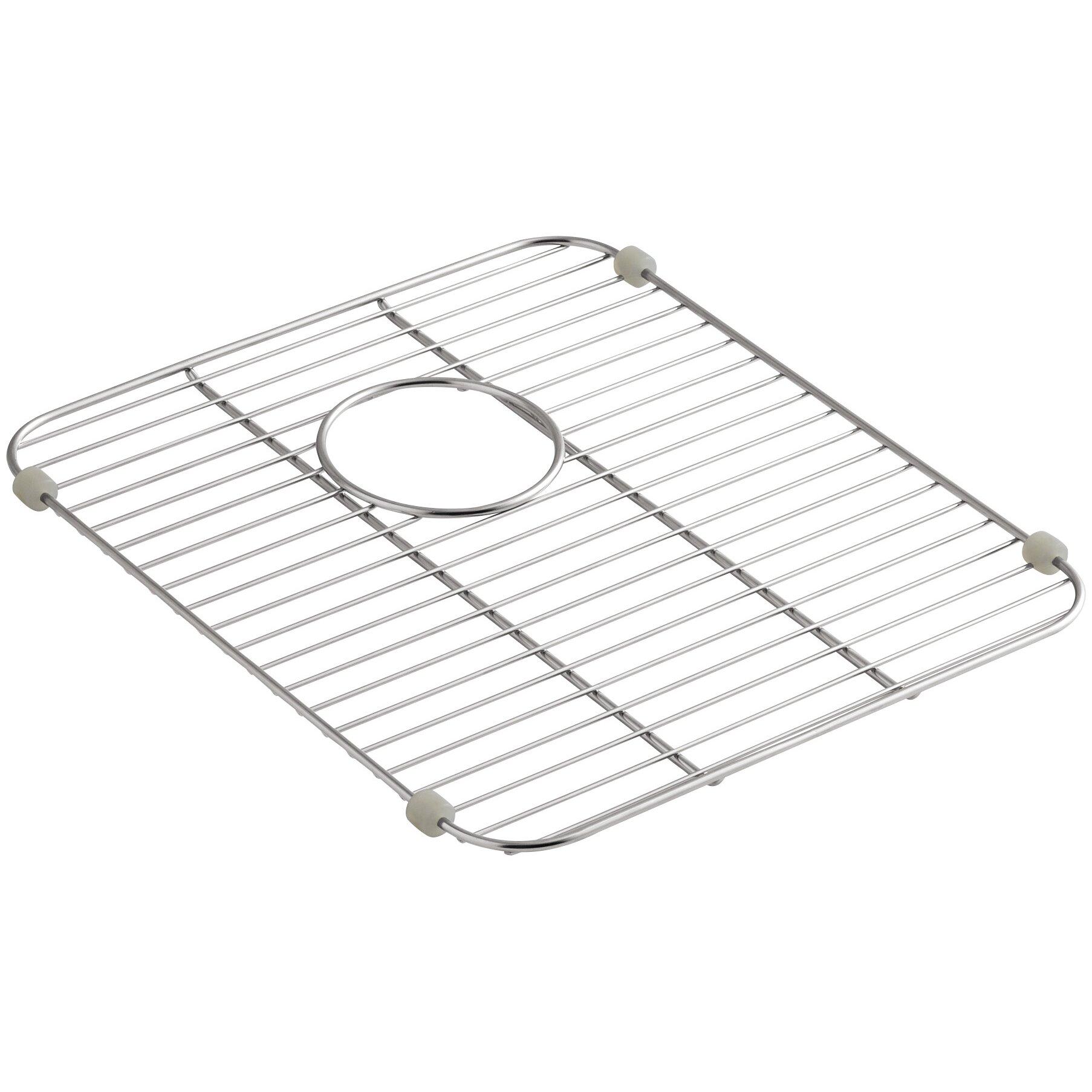 stainless steel sink rack for kitchen sinks wayfair. Black Bedroom Furniture Sets. Home Design Ideas
