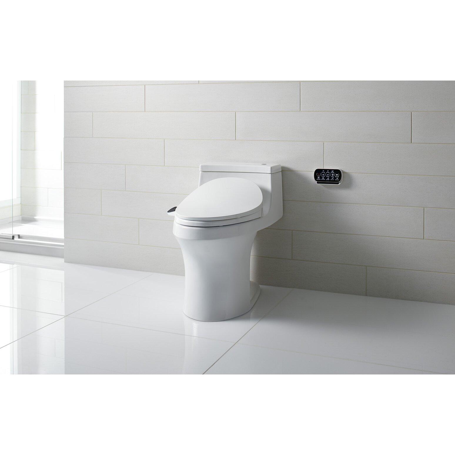 Kohler C3 230 C3 230 Elongated Bidet Toilet Seat With In