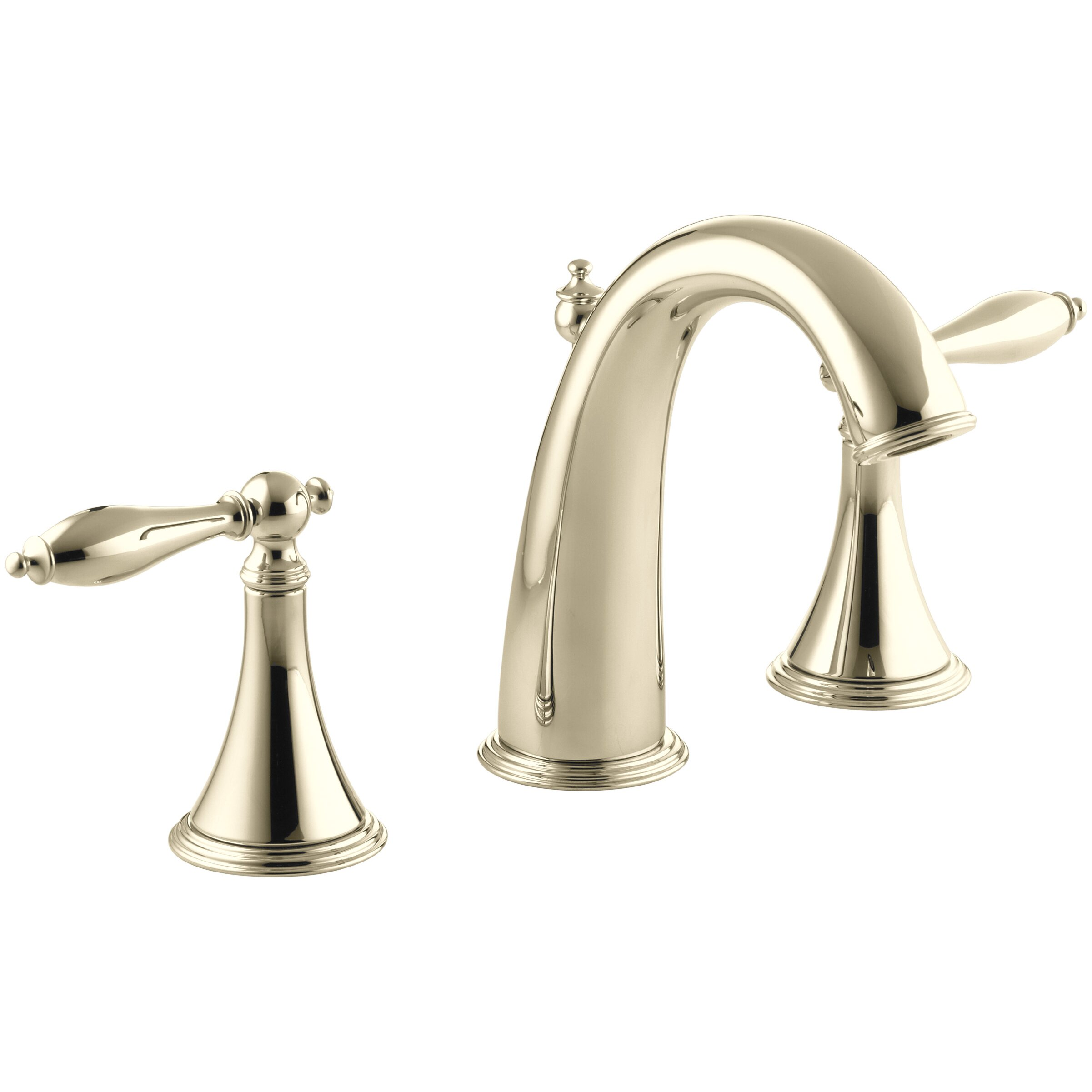 Kohler Faucet Reviews : Kohler Finial Traditional Widespread Bathroom Sink Faucet with Lever ...