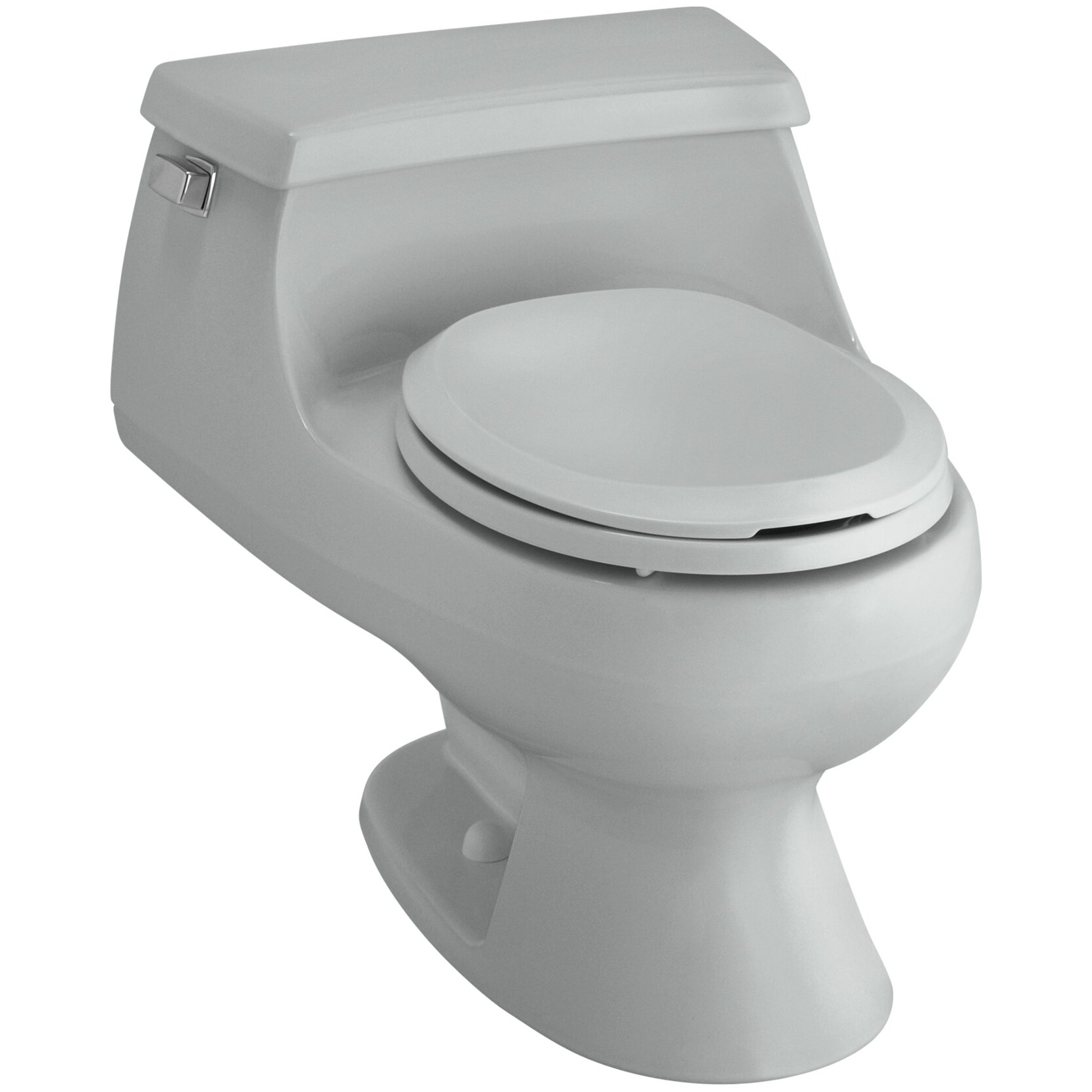 Kohler Rialto One Piece Round Front 1 6 Gpf Toilet With